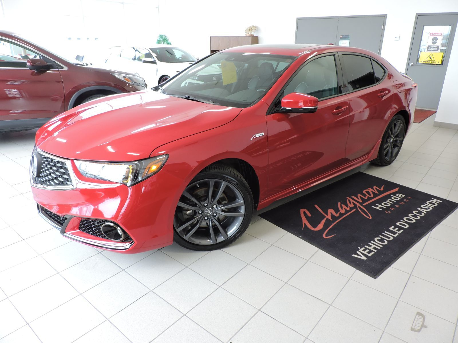 Used 2019 Acura Tlx Tech A Spec Sh Awd V6 In Granby Used Inventory Chagnon Honda In Granby Quebec