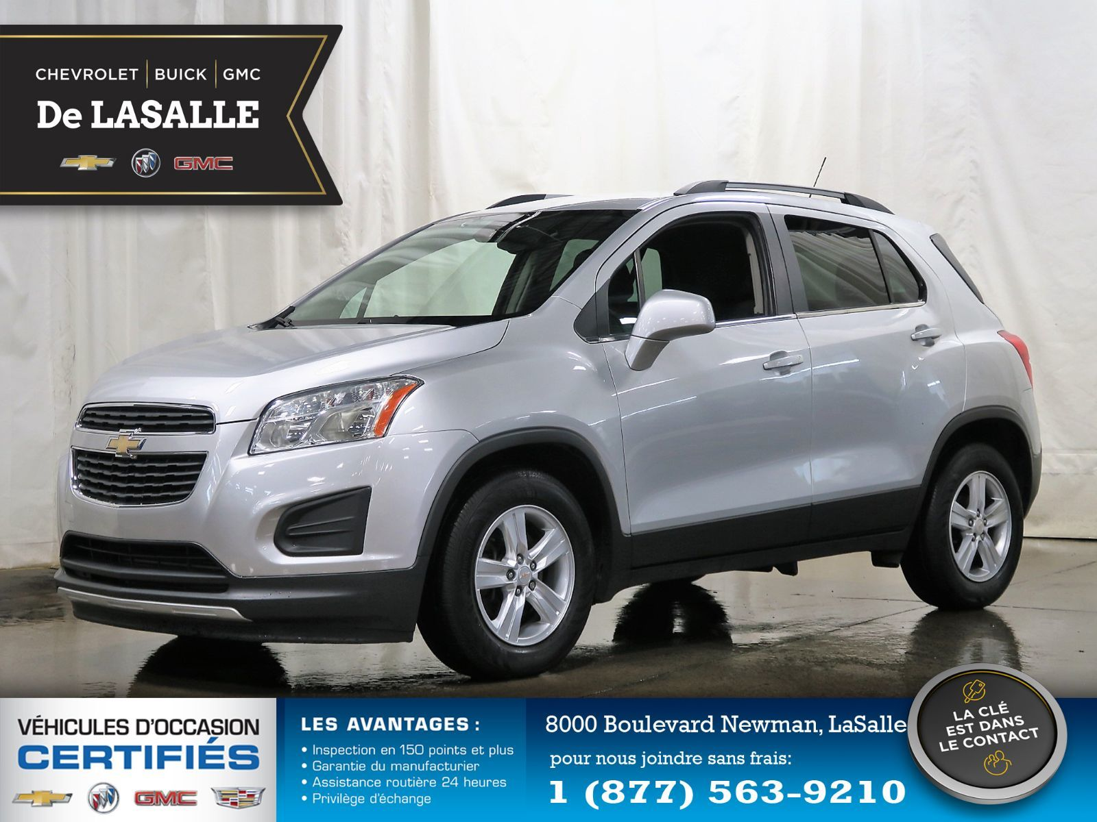 Gm Ile Perrot >> Groupe Couture Pre Owned 2015 Chevrolet Trax Lt Fwd 57 For