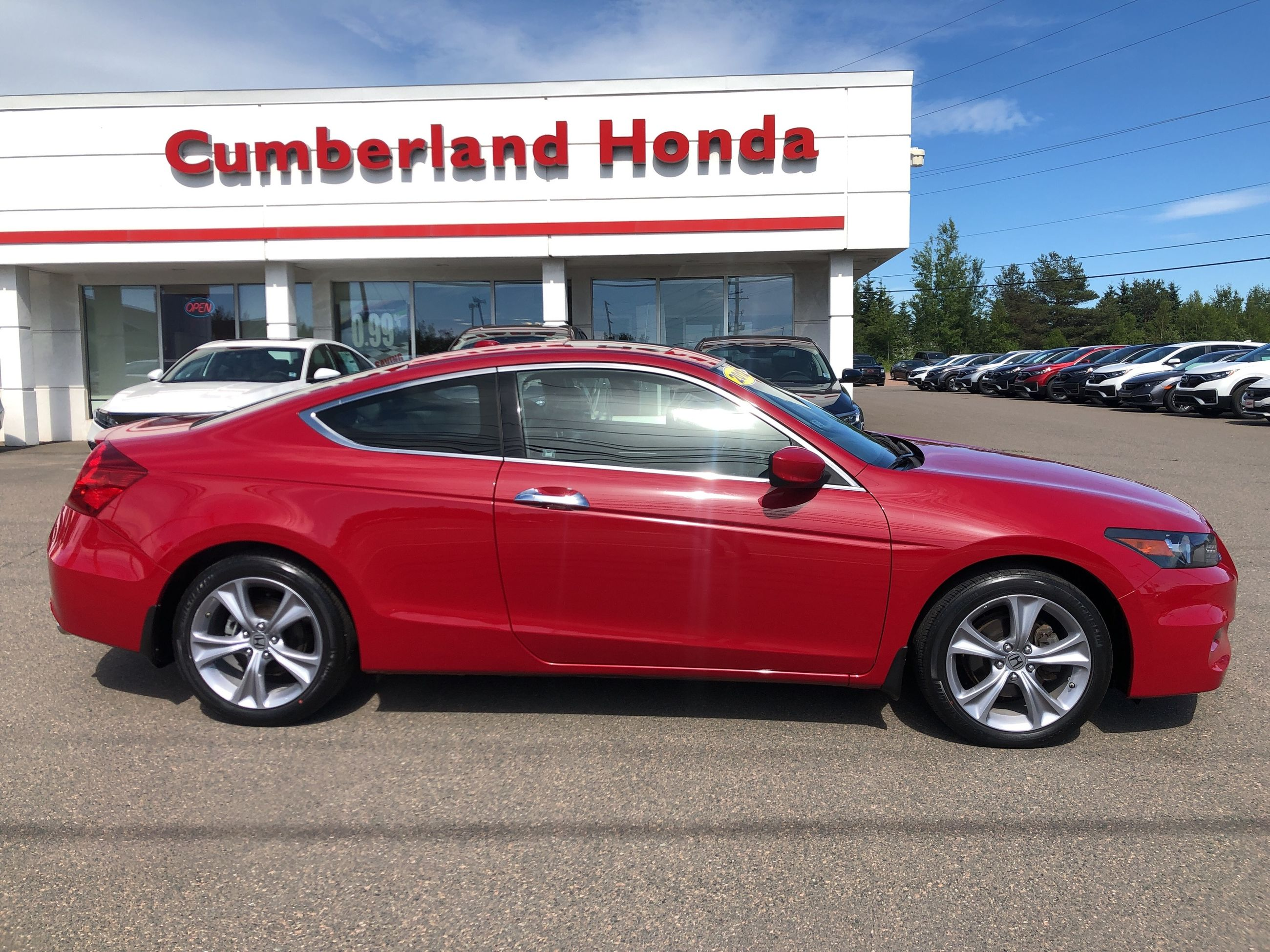 Cumberland Honda Pre Owned 2012 Honda Accord Coupe Ex L W Navi For Sale In Amherst