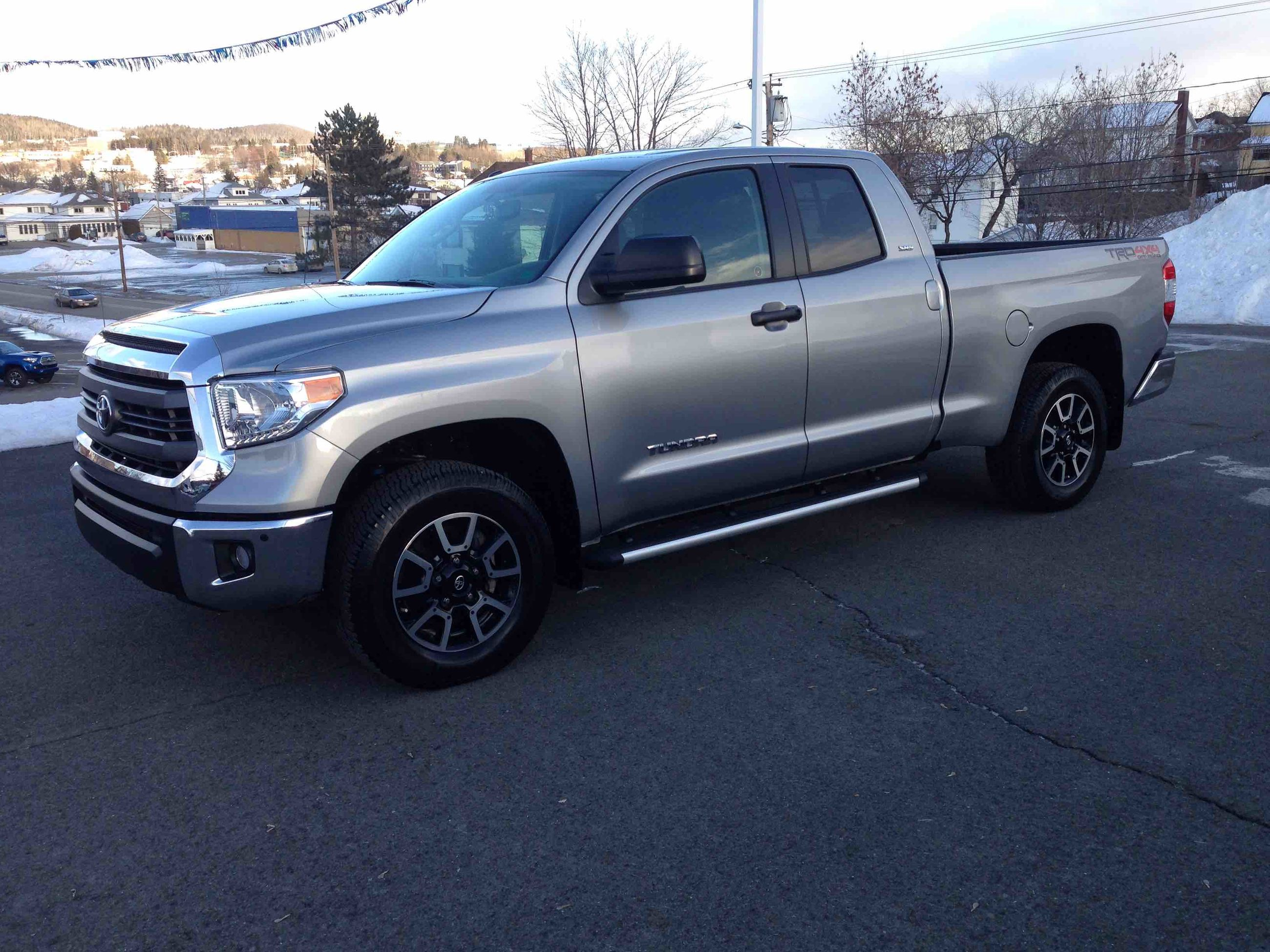 Used 2014 Toyota Tundra SR5 TRD OFFROAD in Edmundston ...