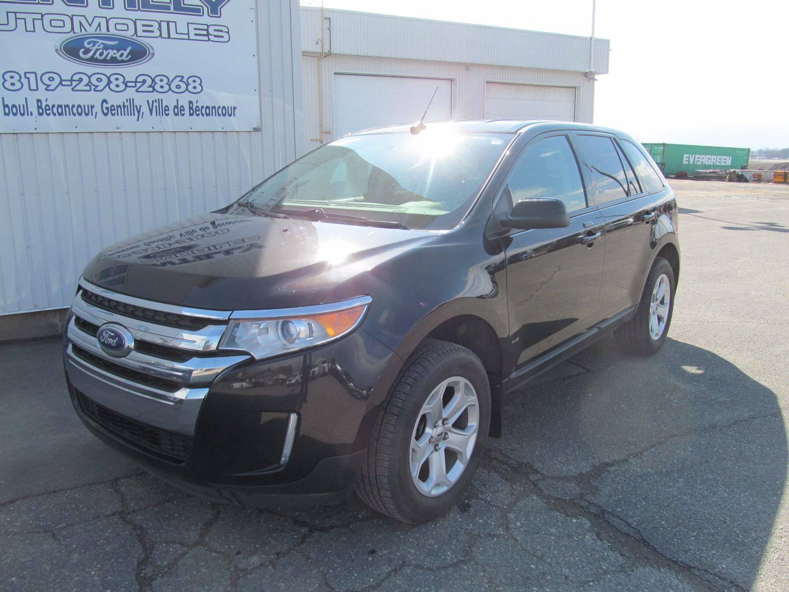 2014 ford edge sel d 39 occasion b cancour secteur gentilly inventaire d 39 occasion gentilly. Black Bedroom Furniture Sets. Home Design Ideas