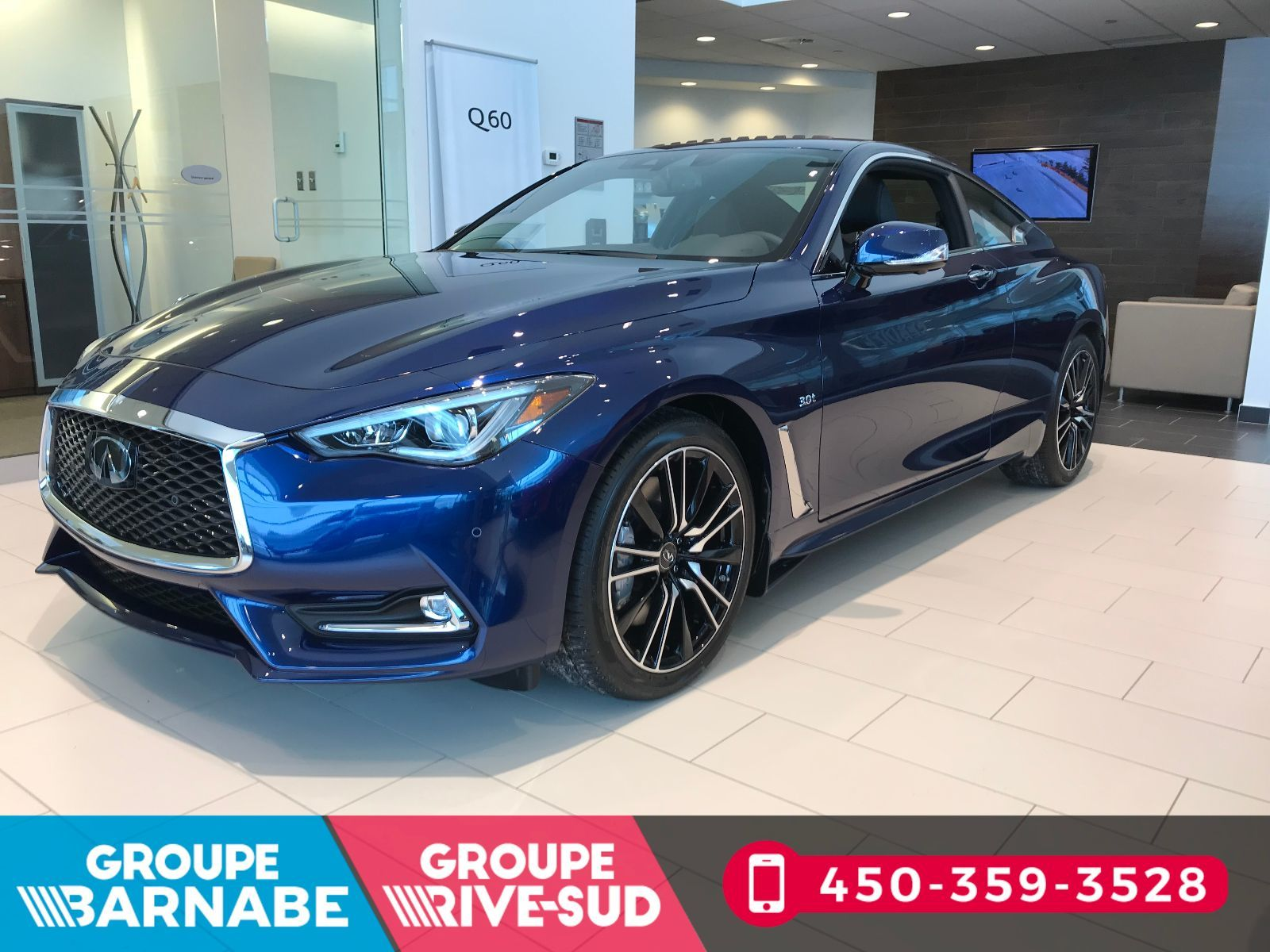 Used 2018 Infiniti Q60 Coupe 3 0T SPORT ENS TECHNOLOGIE in