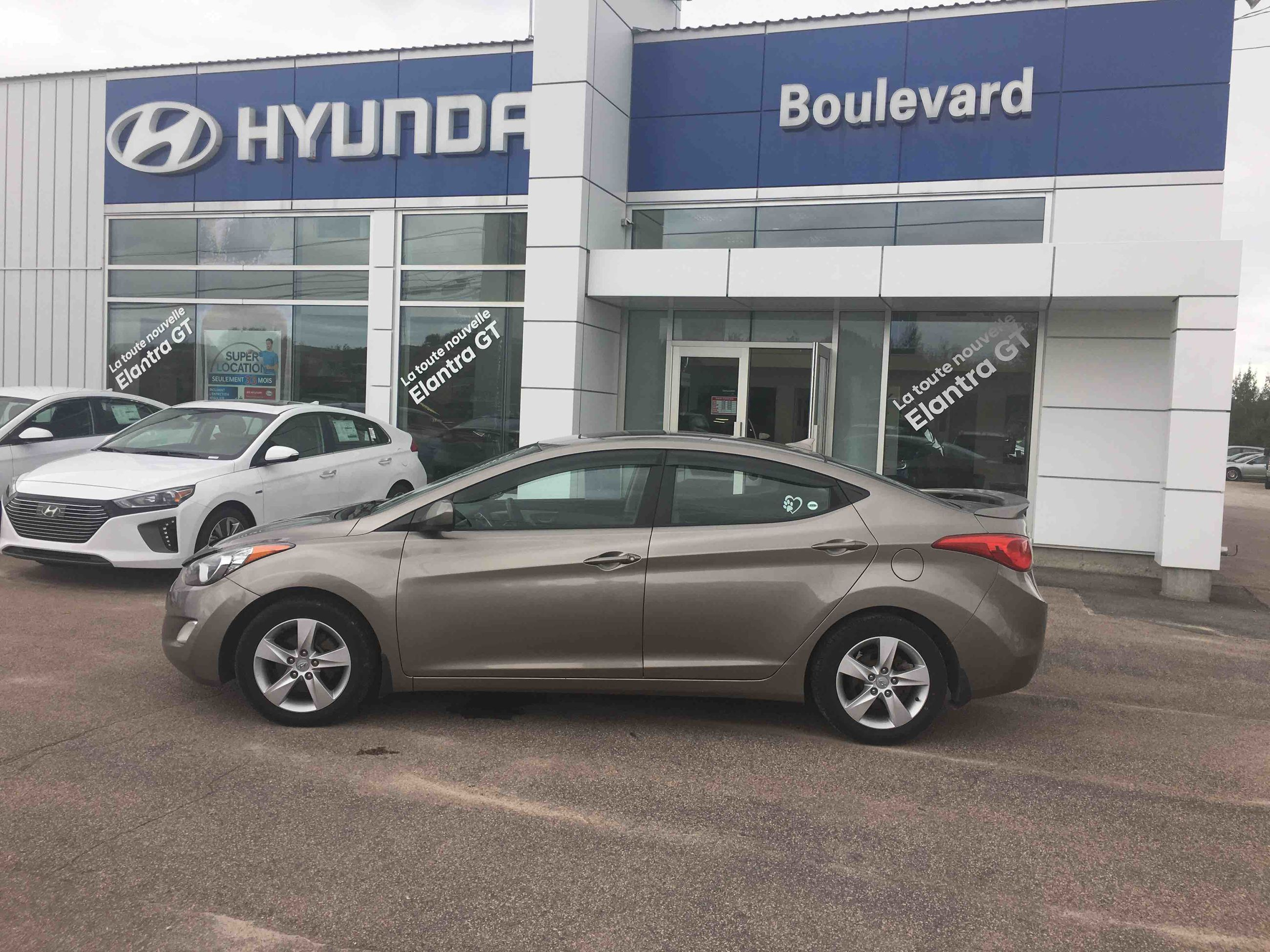 Used 2011 Hyundai Elantra Gls In Baie Comeau Inventory 2012 Fuel Filter Olivier Groupe Quebec