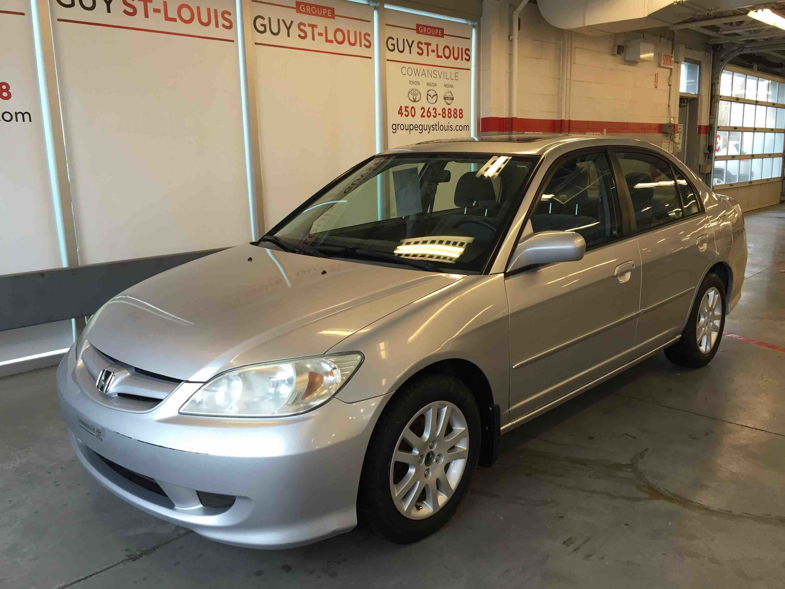 Cowansville Nissan | Pre-Owned 2005 Honda CIVIC LX LX-G for sale in  Cowansville