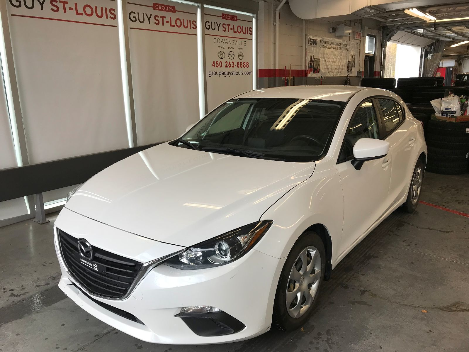 Cowansville Mazda | Pre-Owned 2016 Mazda Mazda3 Sport GX - AIR CLIMATISE -  CAMERA DE RECUL for sale in Cowansville