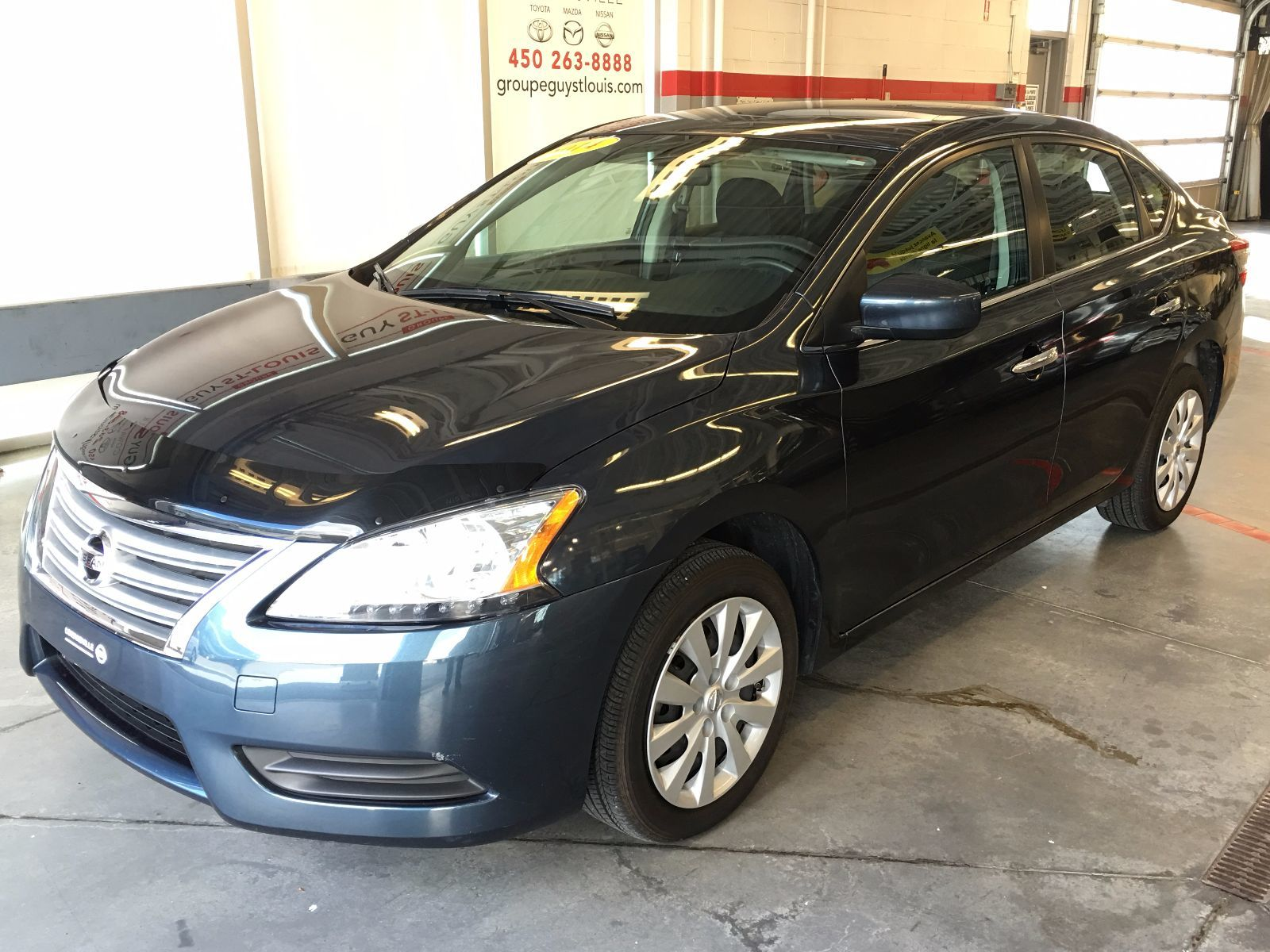 used 2014 nissan sentra sv in cowansville used inventory cowansville nissan in cowansville. Black Bedroom Furniture Sets. Home Design Ideas