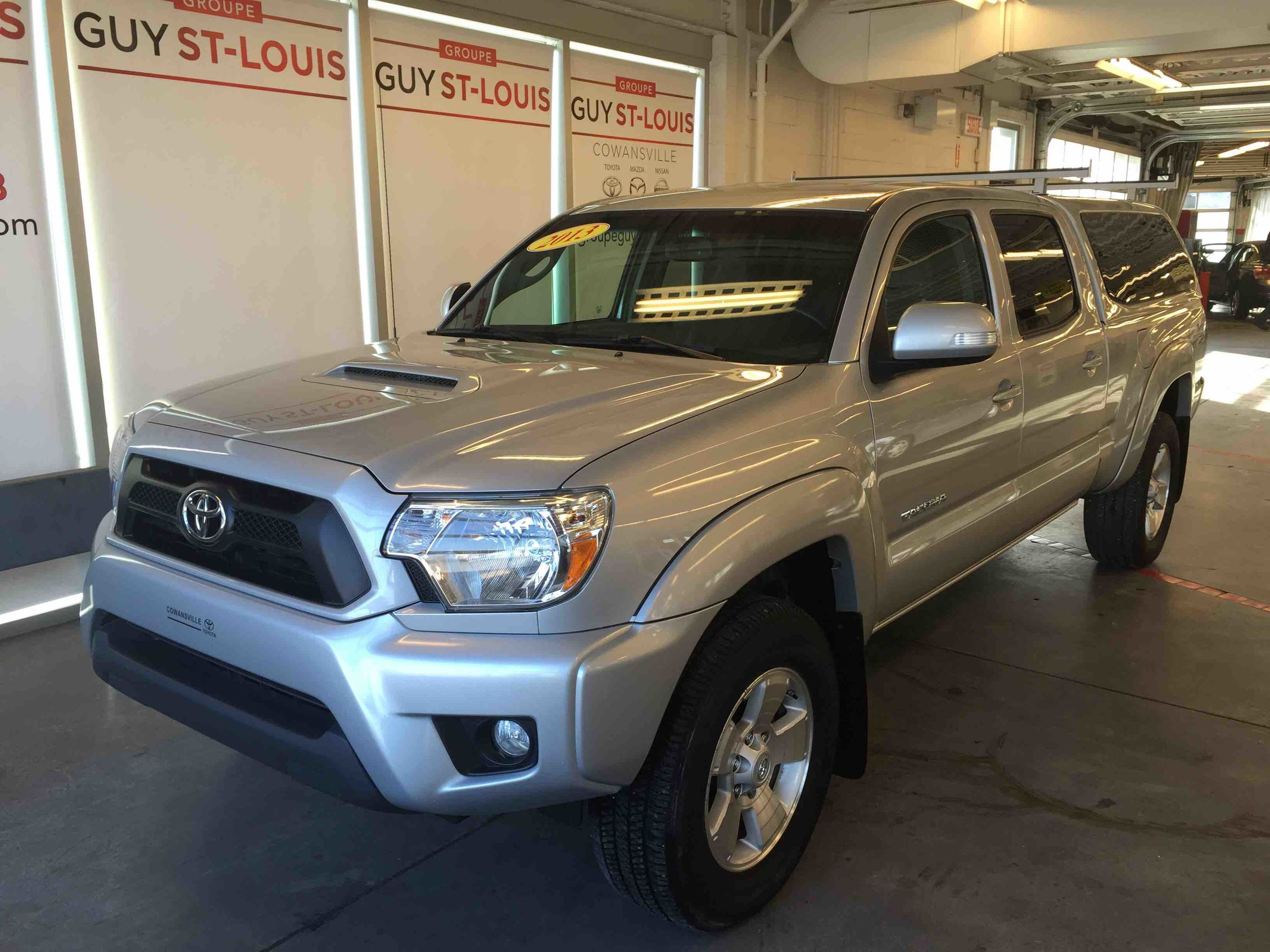 2013 toyota tacoma 4x4 cabine double trd d 39 occasion cowansville inventaire d 39 occasion. Black Bedroom Furniture Sets. Home Design Ideas