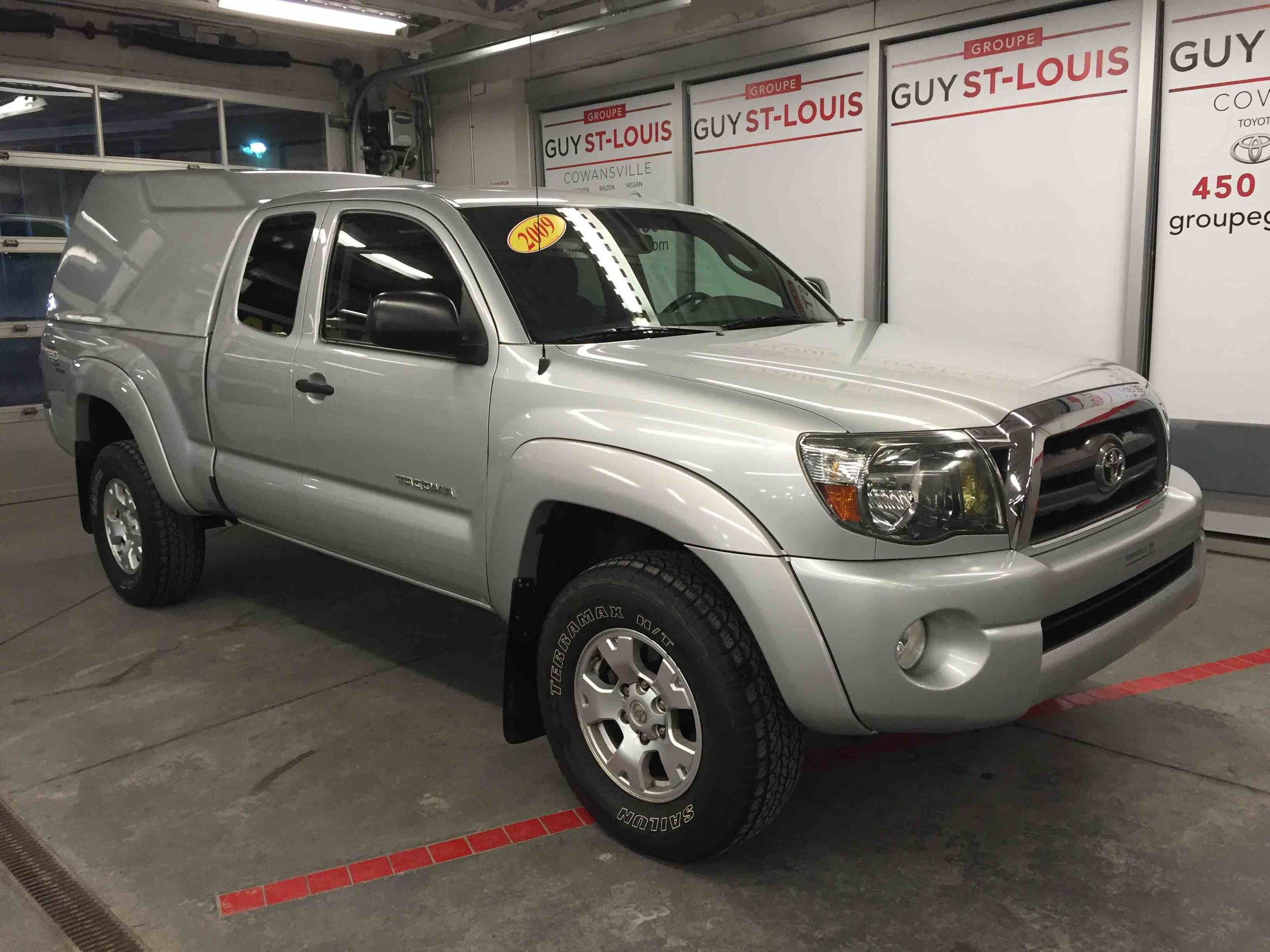 2009 toyota tacoma 4x4 acces cab trd offroad d 39 occasion cowansville inventaire d 39 occasion. Black Bedroom Furniture Sets. Home Design Ideas