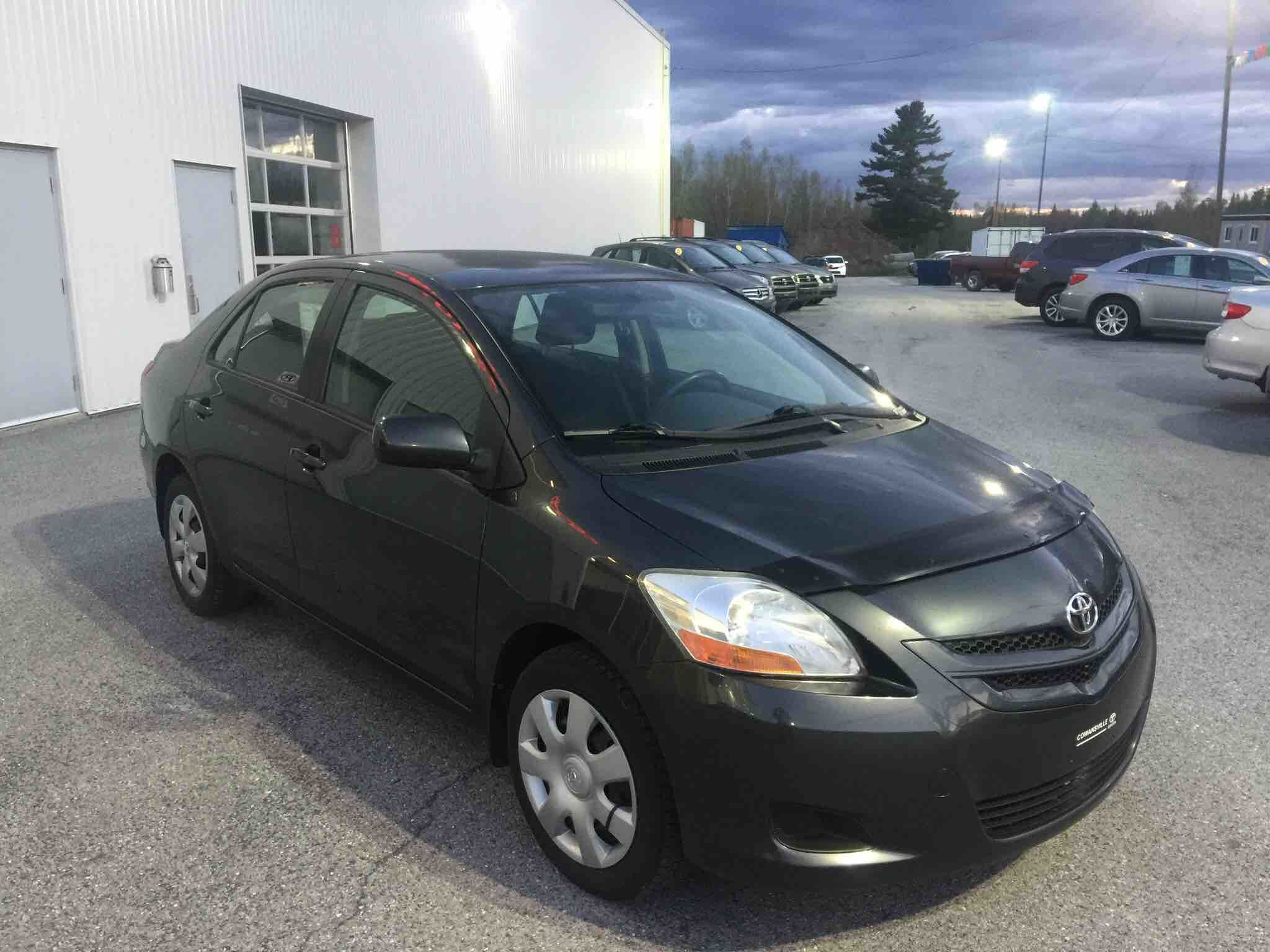Cowansville Toyota Pre Owned 2008 Toyota Yaris Sedan For Sale In Cowansville