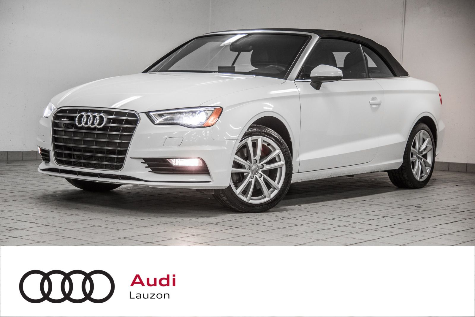 Audi Lauzon Pre Owned 2016 Audi A3 Cabriolet Cabriolet Quattro Komfort For Sale In Laval