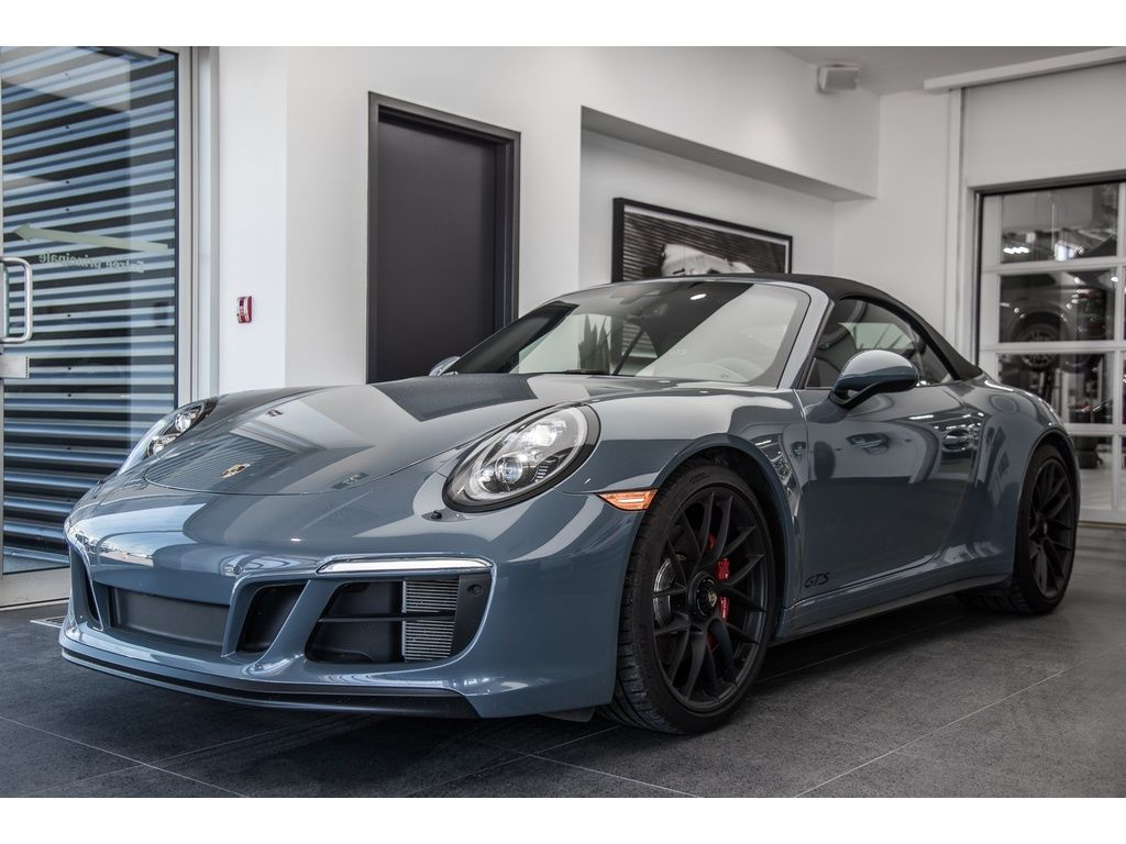 Groupe Lauzon Pre Owned 2018 Porsche 911 Carrera 4 Gts Cabriolet Msrp 195 455 For Sale In