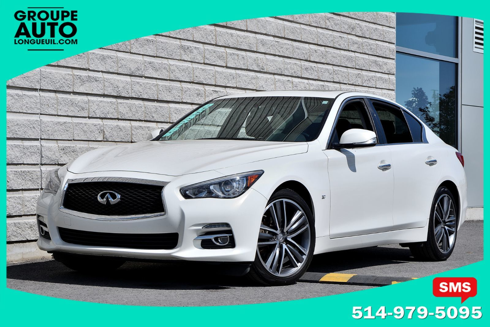 Used 2015 Infiniti Q50 Limitedcuirtoitnav19 Poucesbas Kilo In Remote Start Longueuil Inventory Nissan Quebec Montreals South