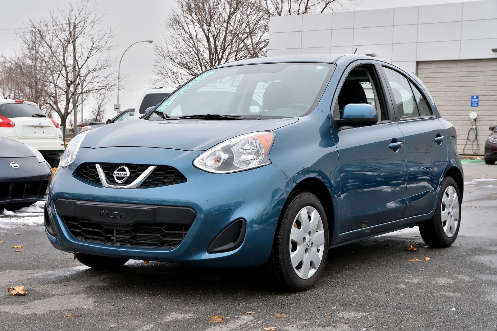 Nissan Of St Charles >> 2018 Nissan Micra *SV*AUTOM*A/C*BLEUE*440KM*DEMARREUR* d'occasion à Longueuil - Inventaire d ...