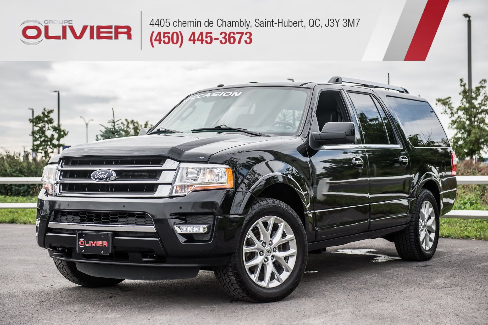 olivier ford sainthubert  ford expedition max limited