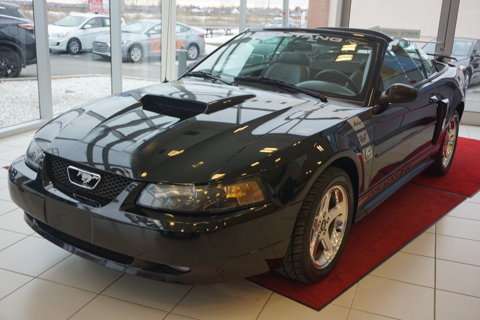Olivier hyundai saint basile pre owned 2004 ford mustang gt décapotable comme neuf a voir absolument for sale in saint basile le grand