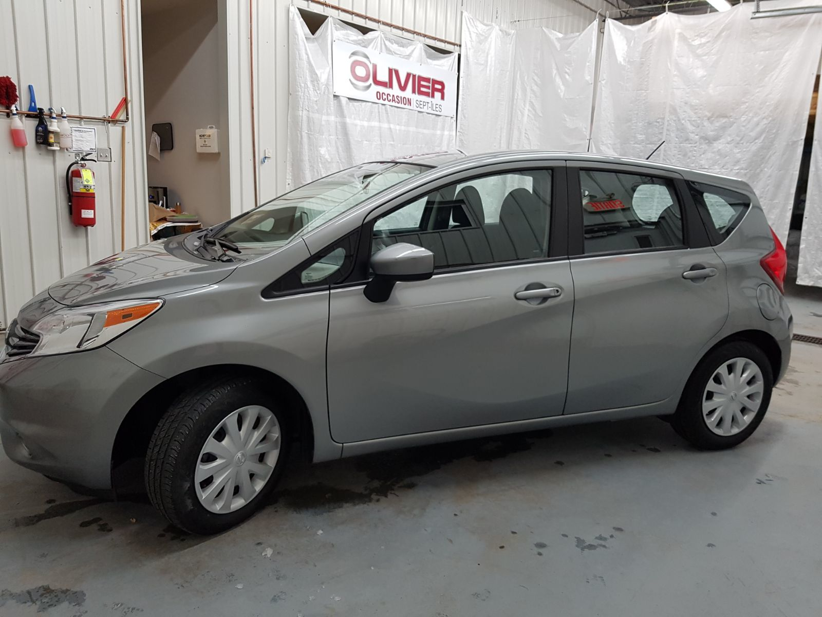 Nissan Note Occasion >> Olivier Occasion Sept Iles Pre Owned 2015 Nissan Versa Note S For