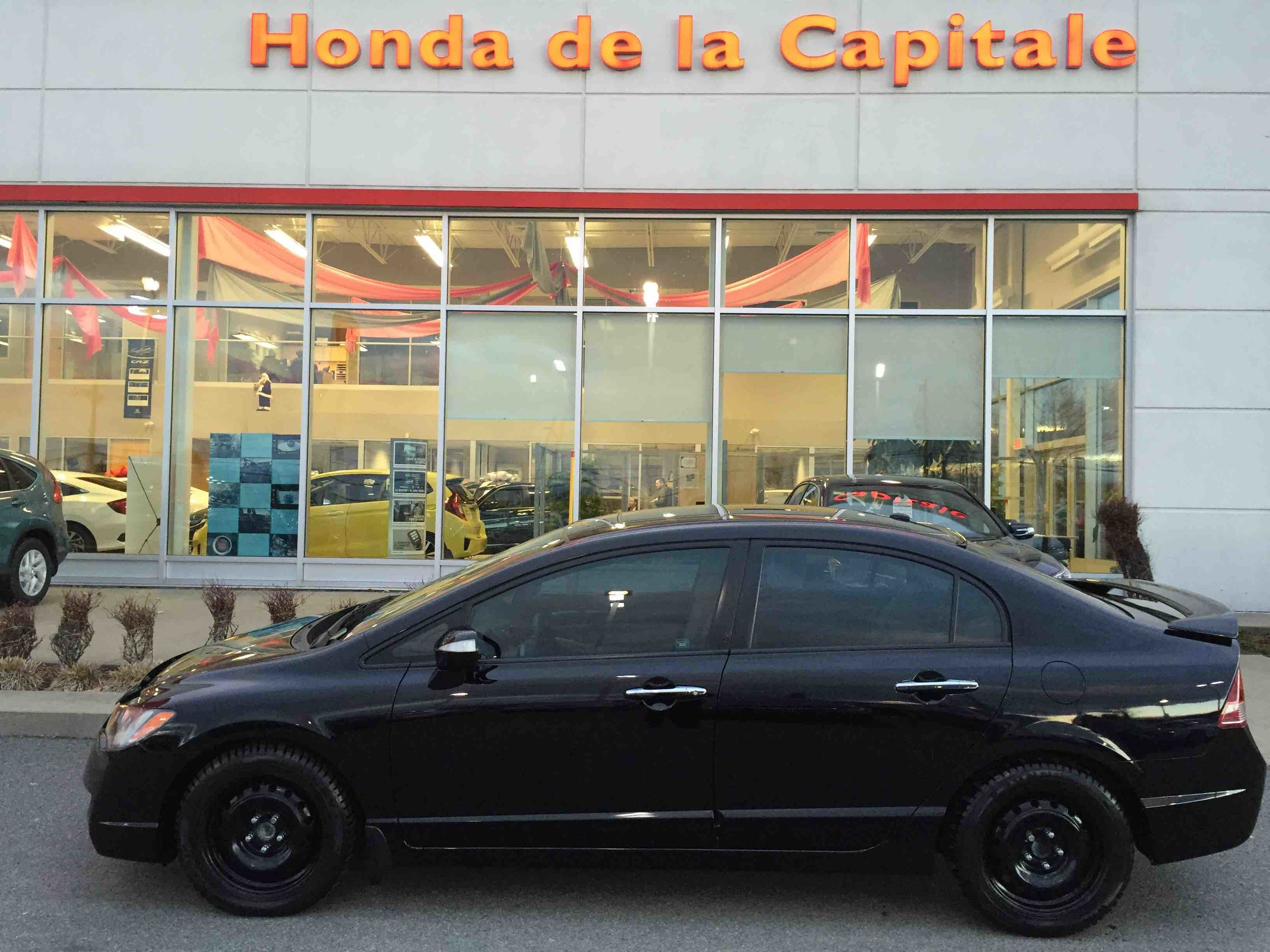 used 2008 acura csx tech pkg in val bélair used inventory