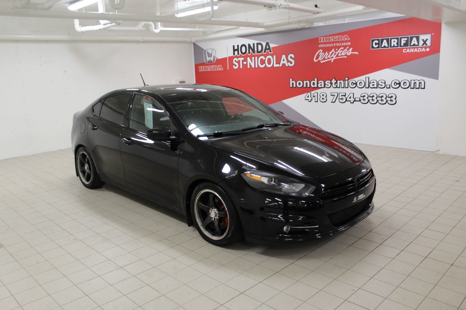 Honda St Nicolas Pre Owned 2013 Dodge Dart Sxt Turbo Mags Toit Camera For Sale In Levis