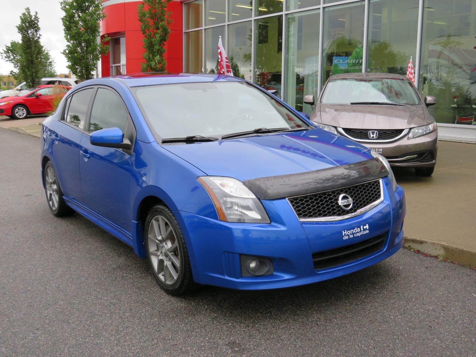 Honda De La Capitale Pre Owned 2012 Nissan Sentra Se R Spec V For Sale In Val Belair