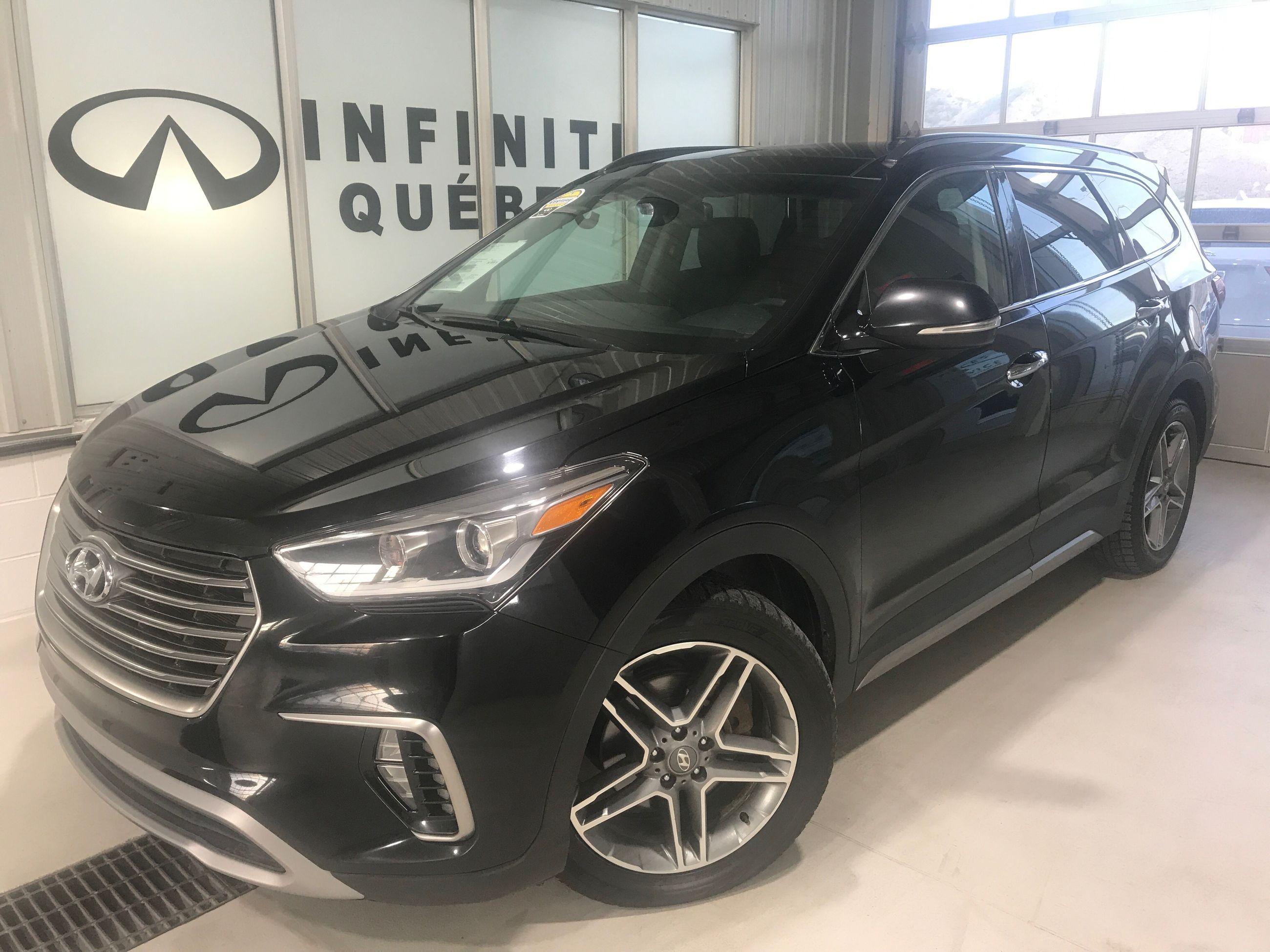 Used 2017 Hyundai Santa Fe Xl Limited Awd In Quebec Used Inventory Infiniti Quebec In Quebec Quebec