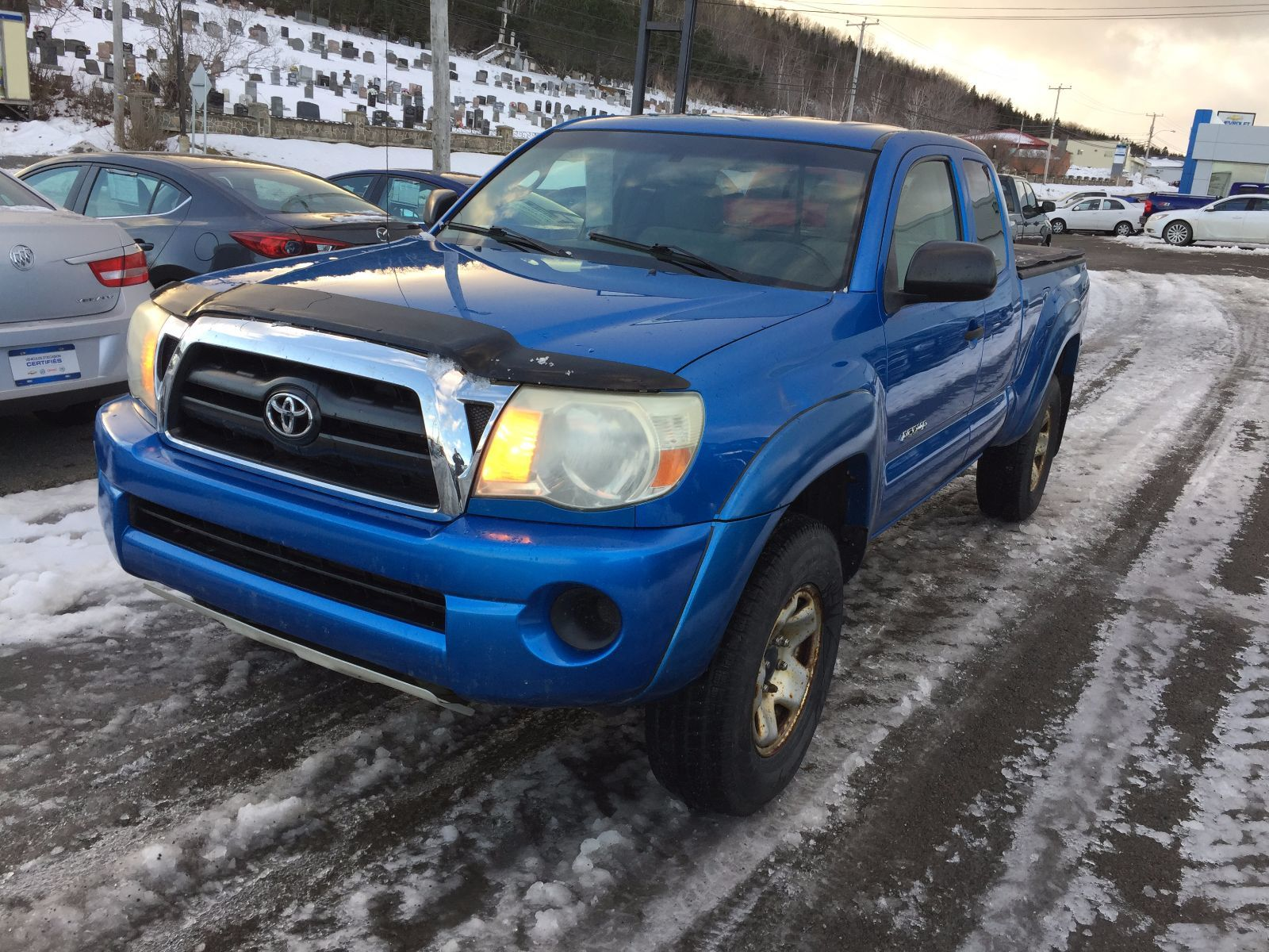 Used 2006 Toyota Ta a 4x4 in Gaspé Used inventory Mazda Gaspé