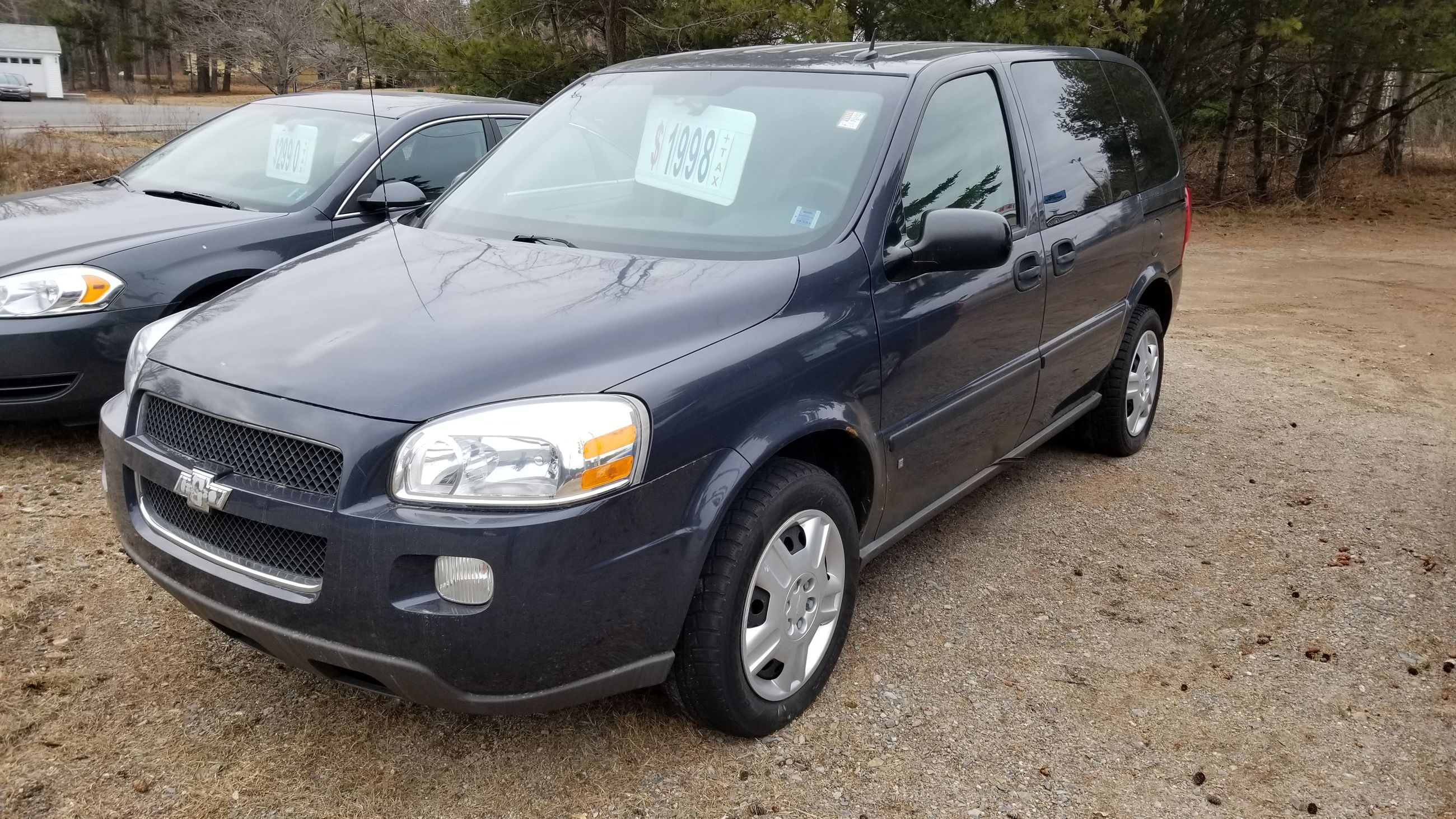 Used 2008 Chevrolet Uplander Ls In Kentville Used Inventory Kings County Honda In Kentville Nova Scotia