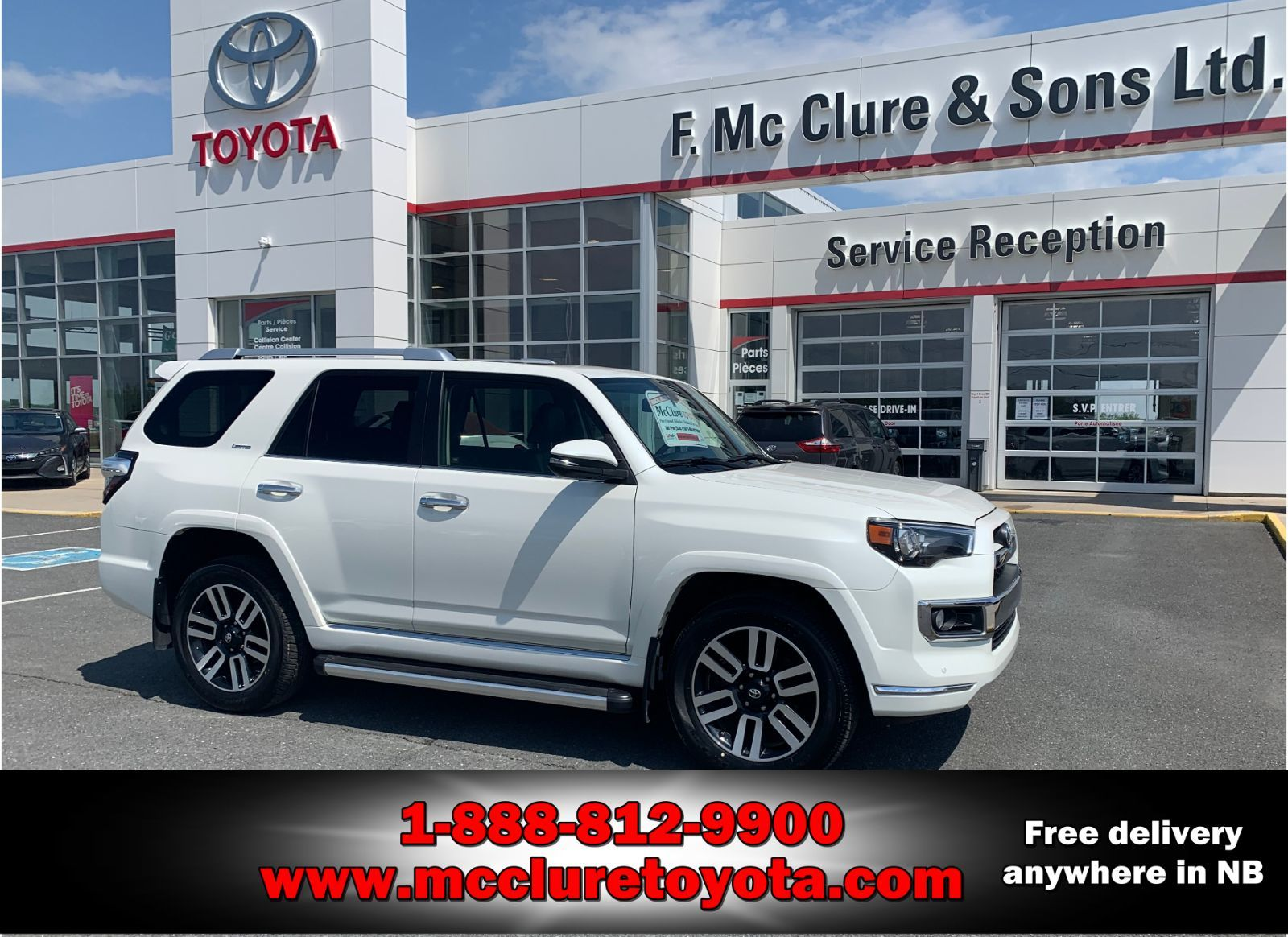 used 2015 toyota 4runner limited in grand falls