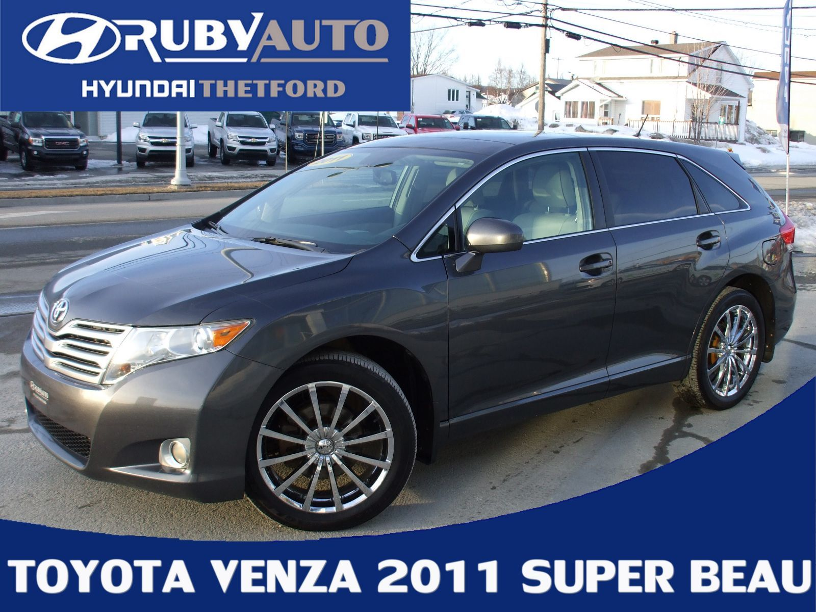 Used 2011 Toyota Venza V6 AWD CUIR TOIT OUVRANT to sale for $14