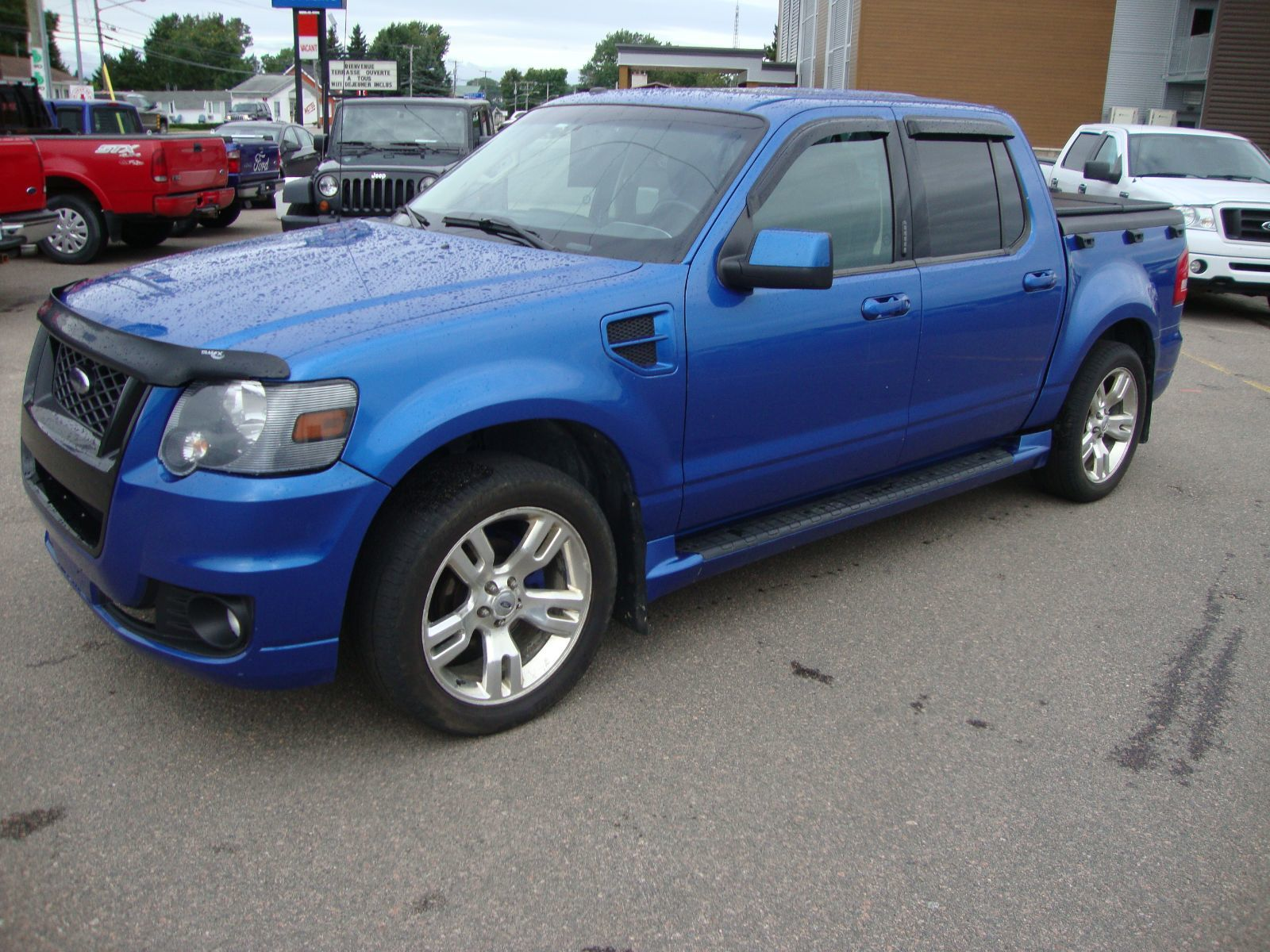 Used 2010 Ford Explorer Sport Trac Adrenalin To Sale For