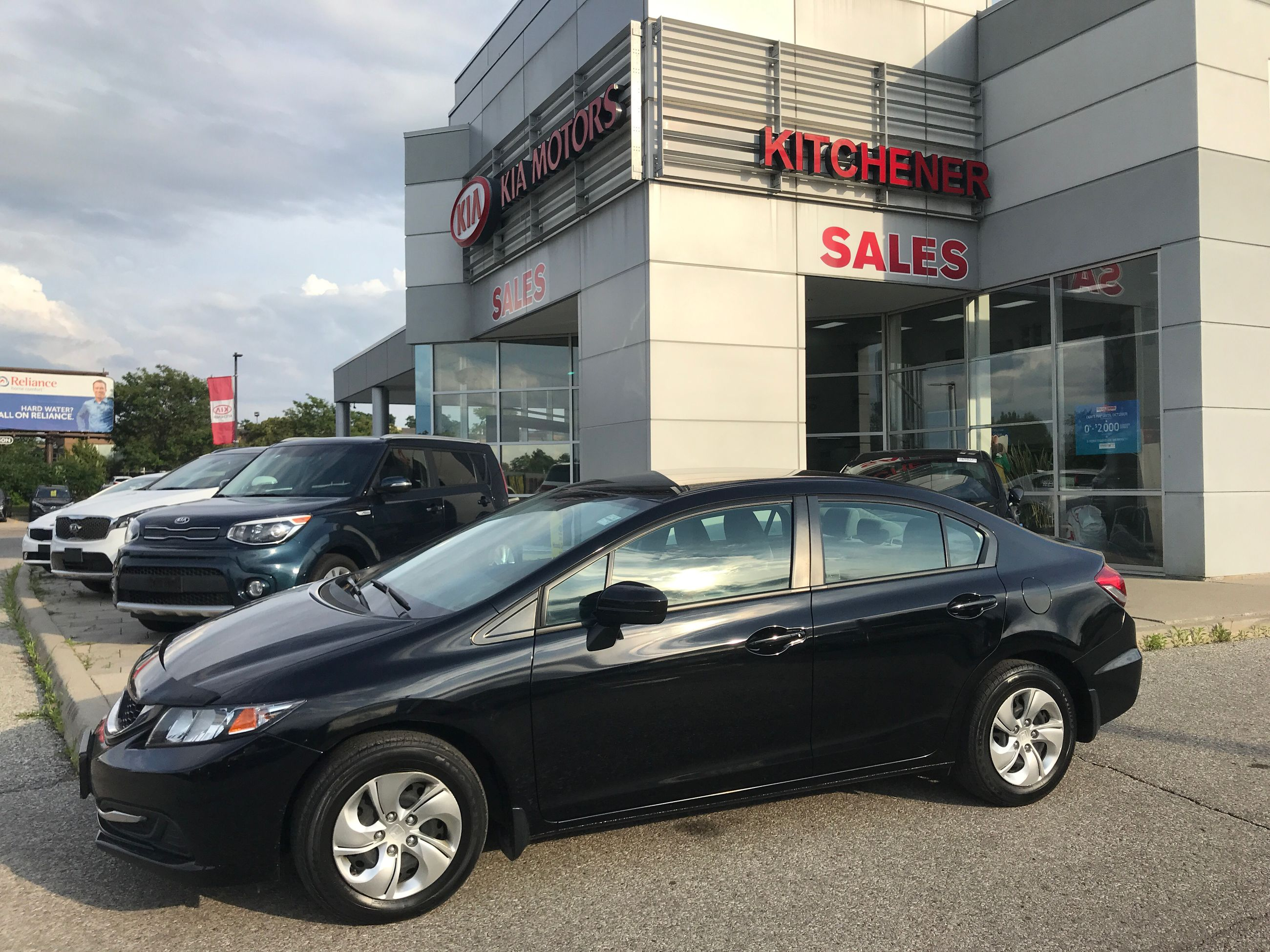 Used 2014 Honda Civic Sedan Lx Cvt For Sale 12600 0 Kitchener Kia
