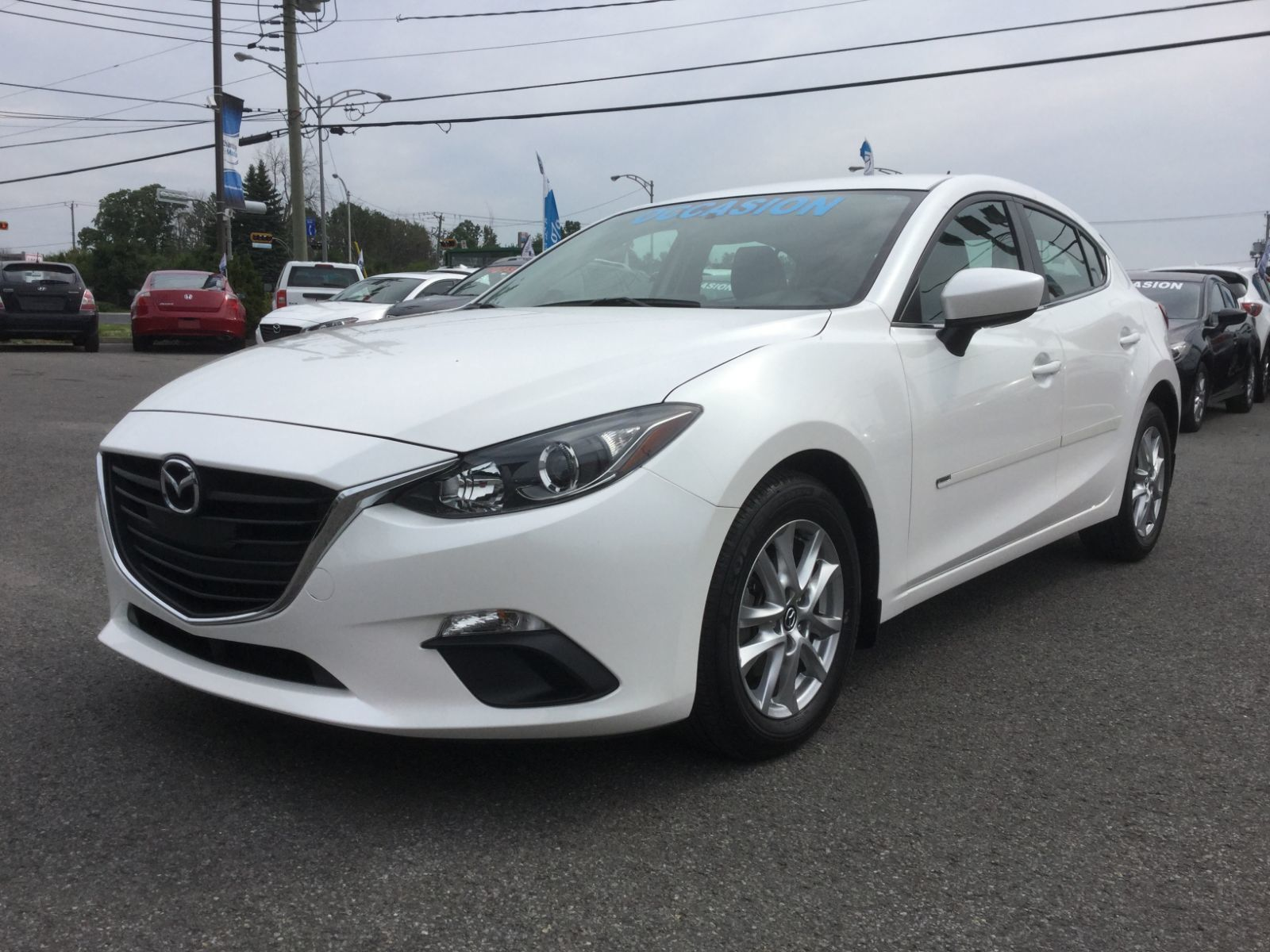 Mazda 3 Service Manual: Power Outer Mirror Switch Inspection
