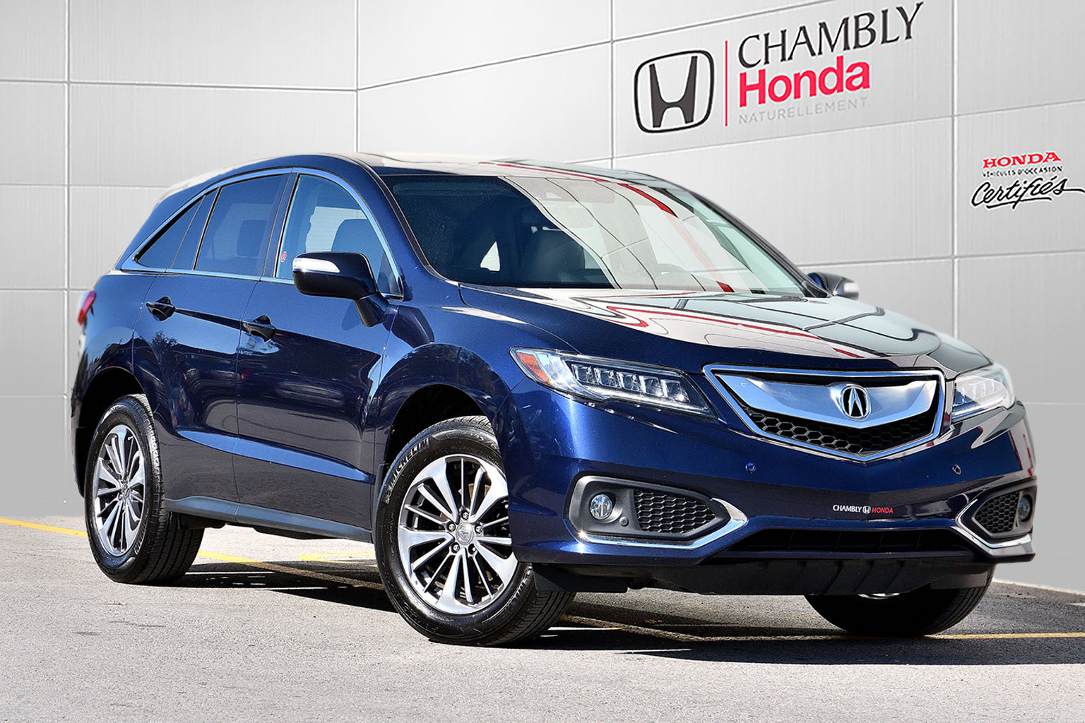 2017 Acura Rdx Elite Pneus Hiver Cuir Nav Toit Camera Used For Sale In Chambly Chambly Honda