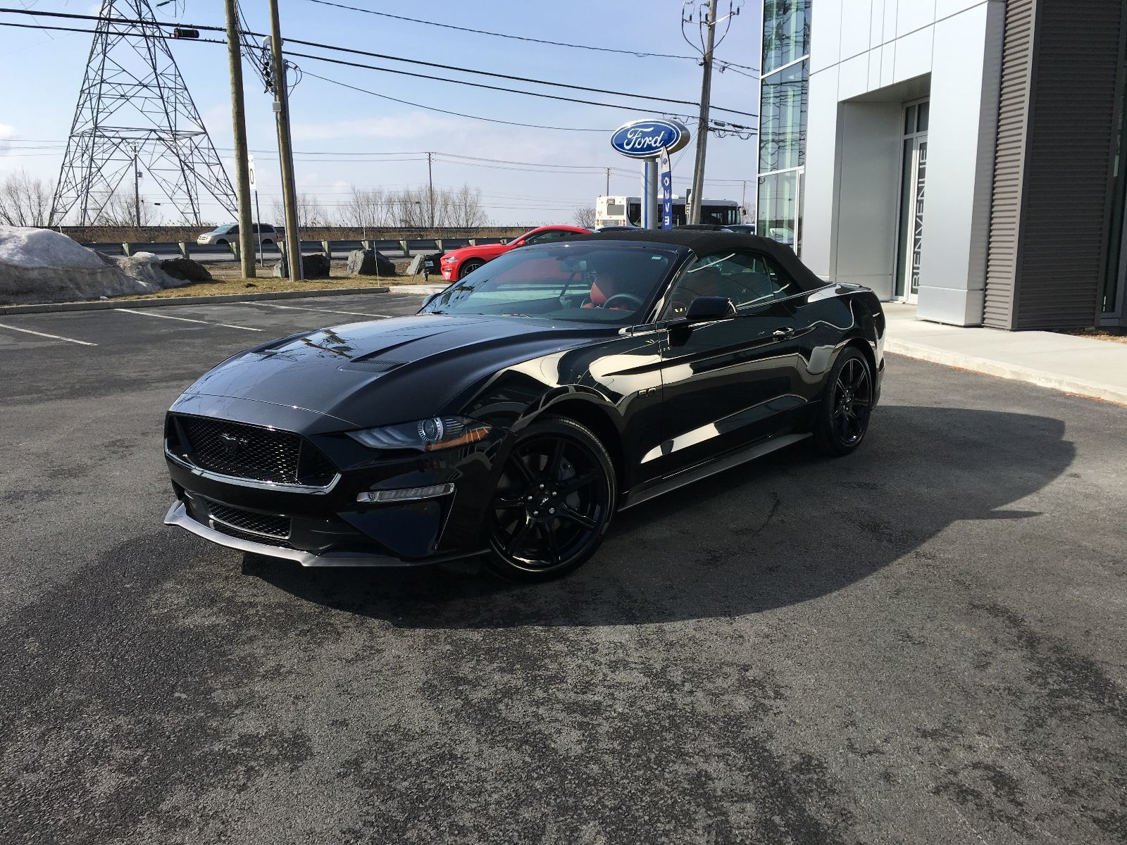 new 2018 ford mustang convertible gt premium for sale. Black Bedroom Furniture Sets. Home Design Ideas