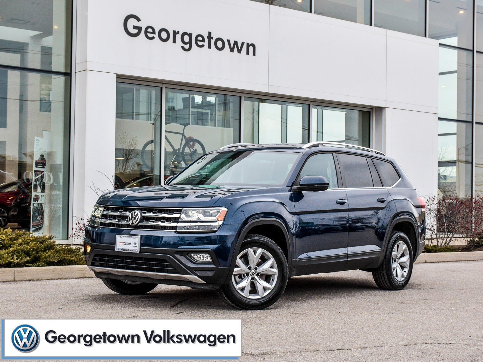 Used 2019 Volkswagen Atlas Comfortline 3 6 Awd Rearcam Appconnect In Georgetown Used Inventory Georgetown Volkswagen In Georgetown Ontario