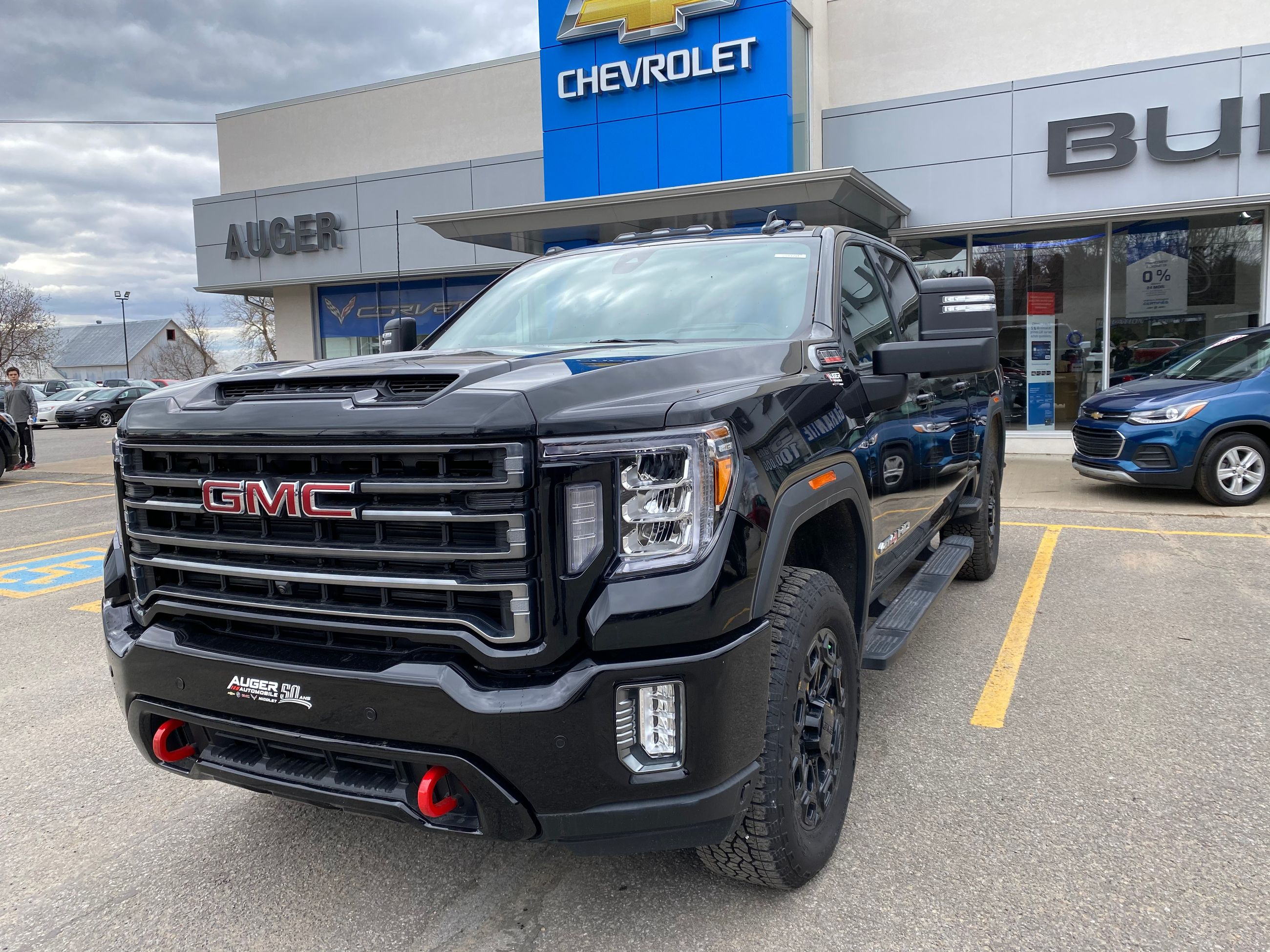 H Auger Automobiles Inc In Nicolet 2020 Gmc Sierra 2500hd At4 20970