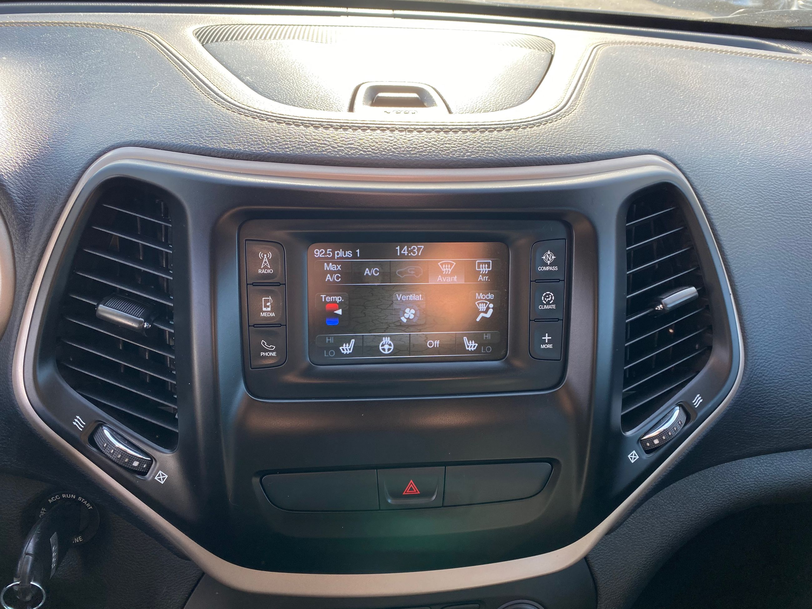 2018 Jeep Cherokee complet