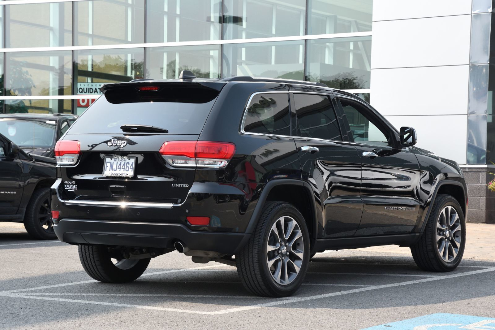 2018 Jeep Grand Cherokee complet