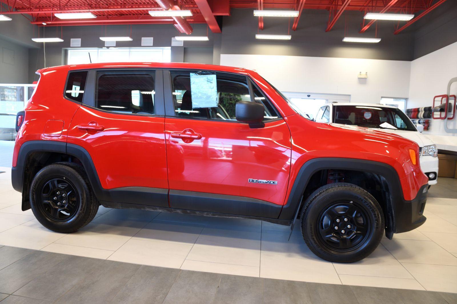 2017 Jeep Renegade complet
