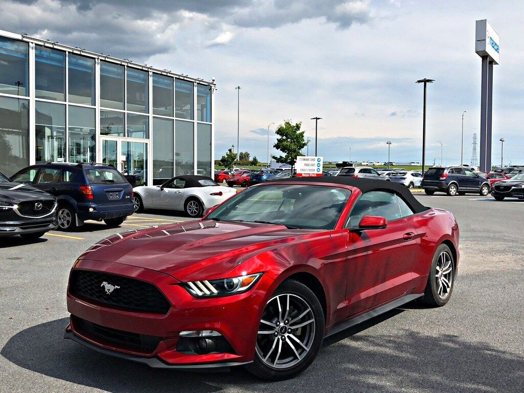 Duval mazda pre owned 2016 ford mustang ecoboost premium