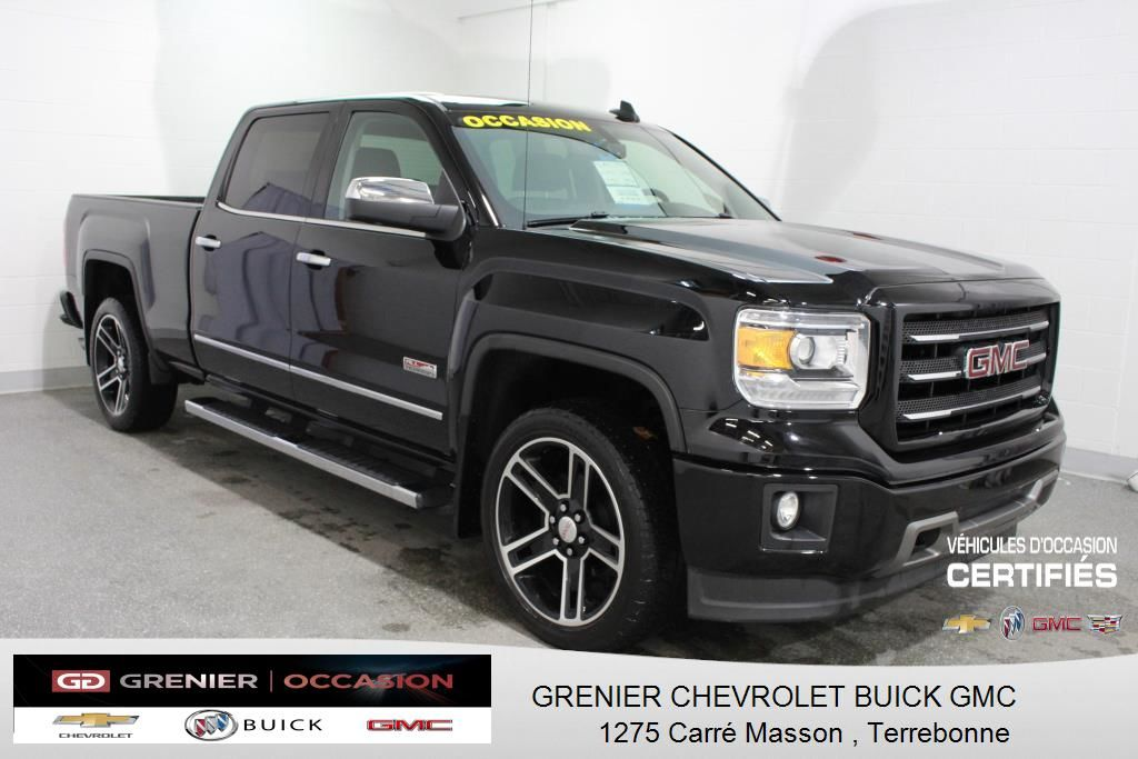 used 2015 gmc sierra 1500 4wd crew cab slt all terrain. Black Bedroom Furniture Sets. Home Design Ideas