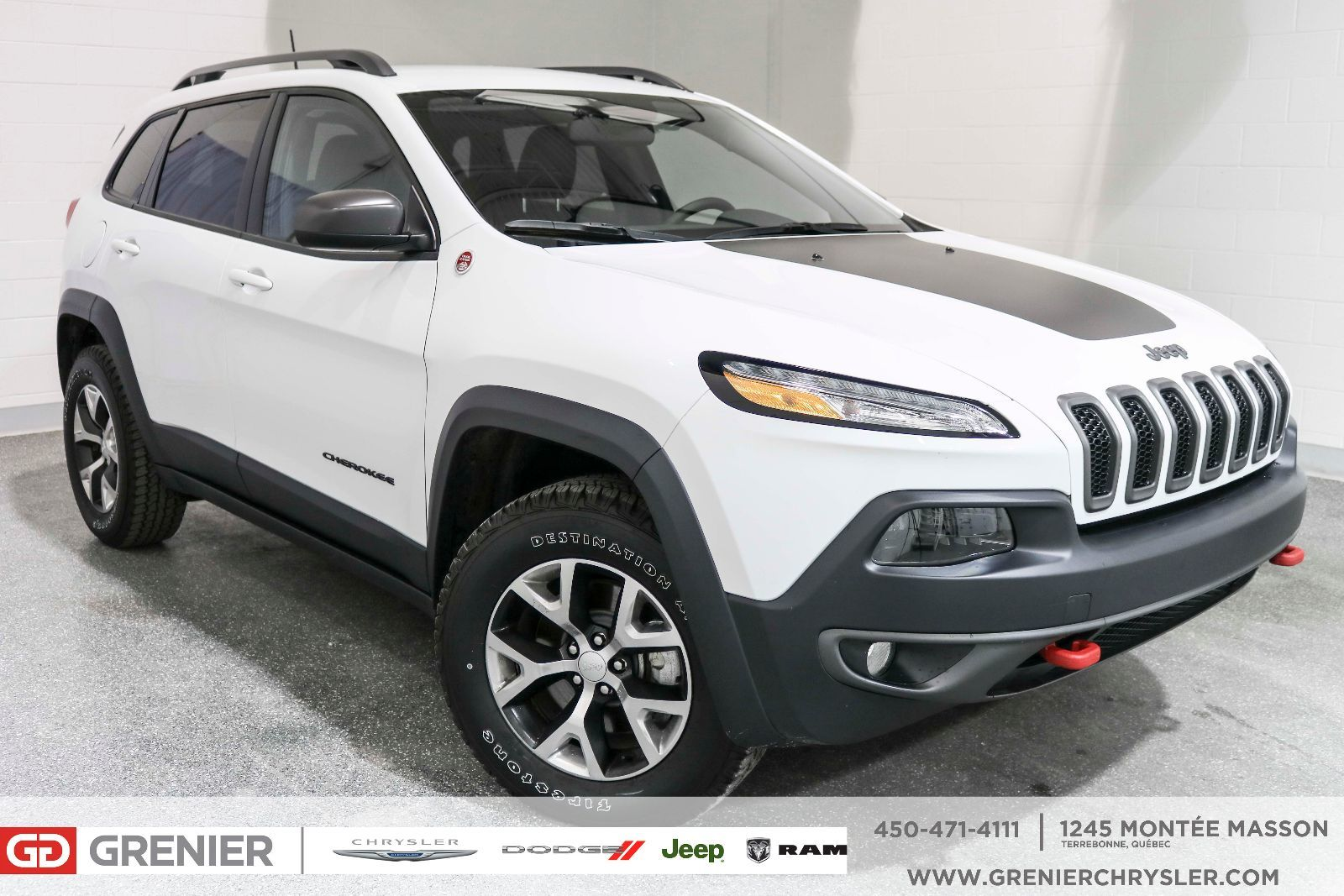 New 2017 Jeep Cherokee Trailhawk 33995 0 Grenier Chrysler