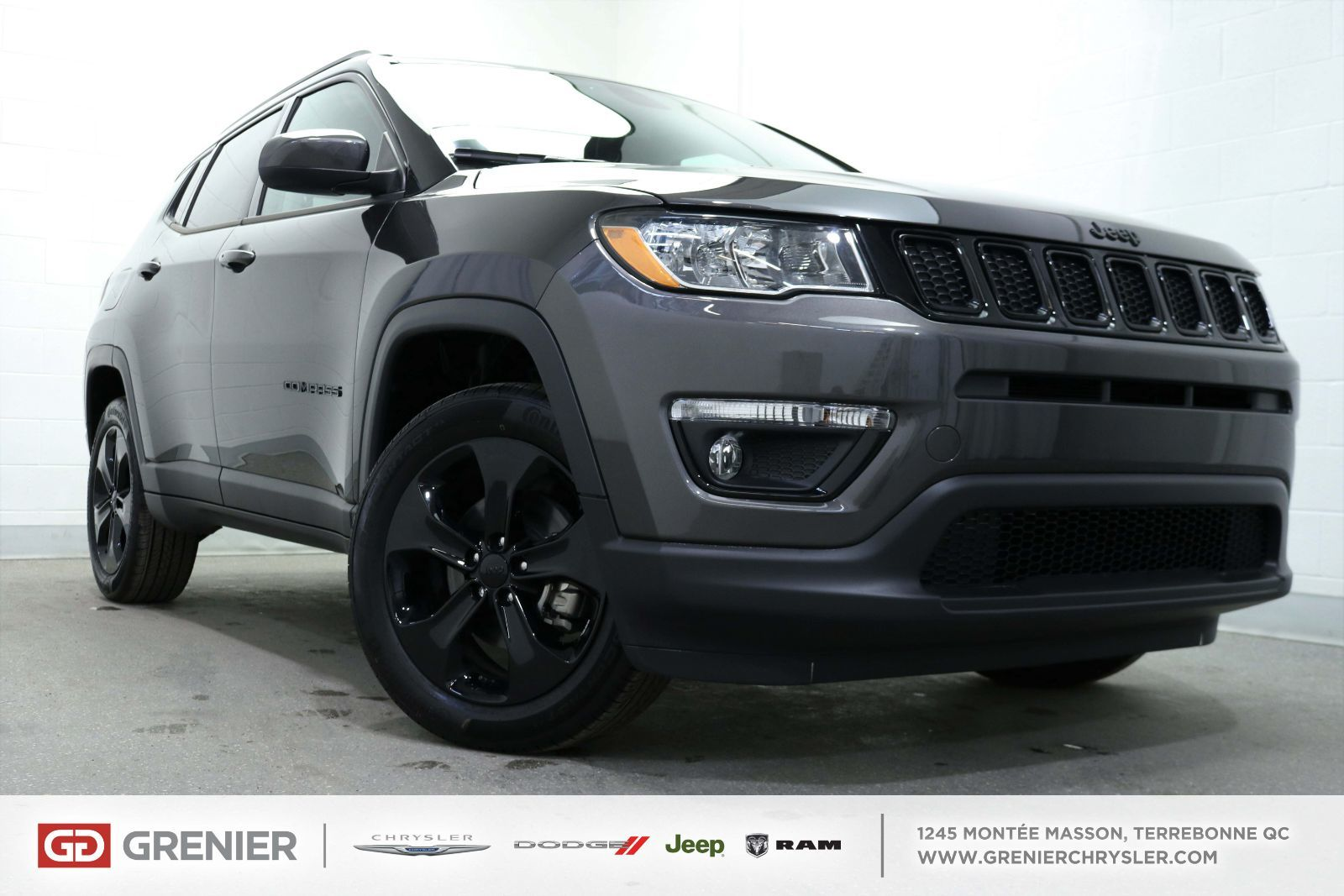 new 2018 jeep compass north+altitude+4x4+ carplay+ bancs chauffant