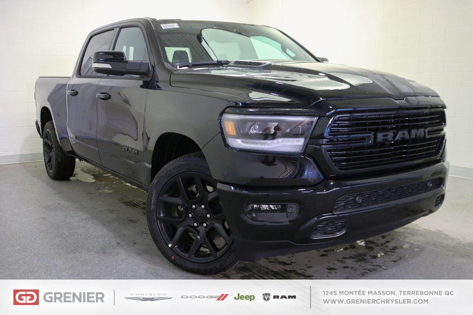 Ram 1500 SPORT 2021 neuf - 68830.0$ | Grenier Chrysler ...