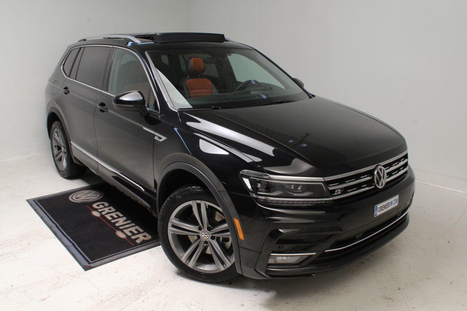new 2019 volkswagen tiguan r line 4motion nav toit cuir noir profond nacre 42995 0 grenier. Black Bedroom Furniture Sets. Home Design Ideas