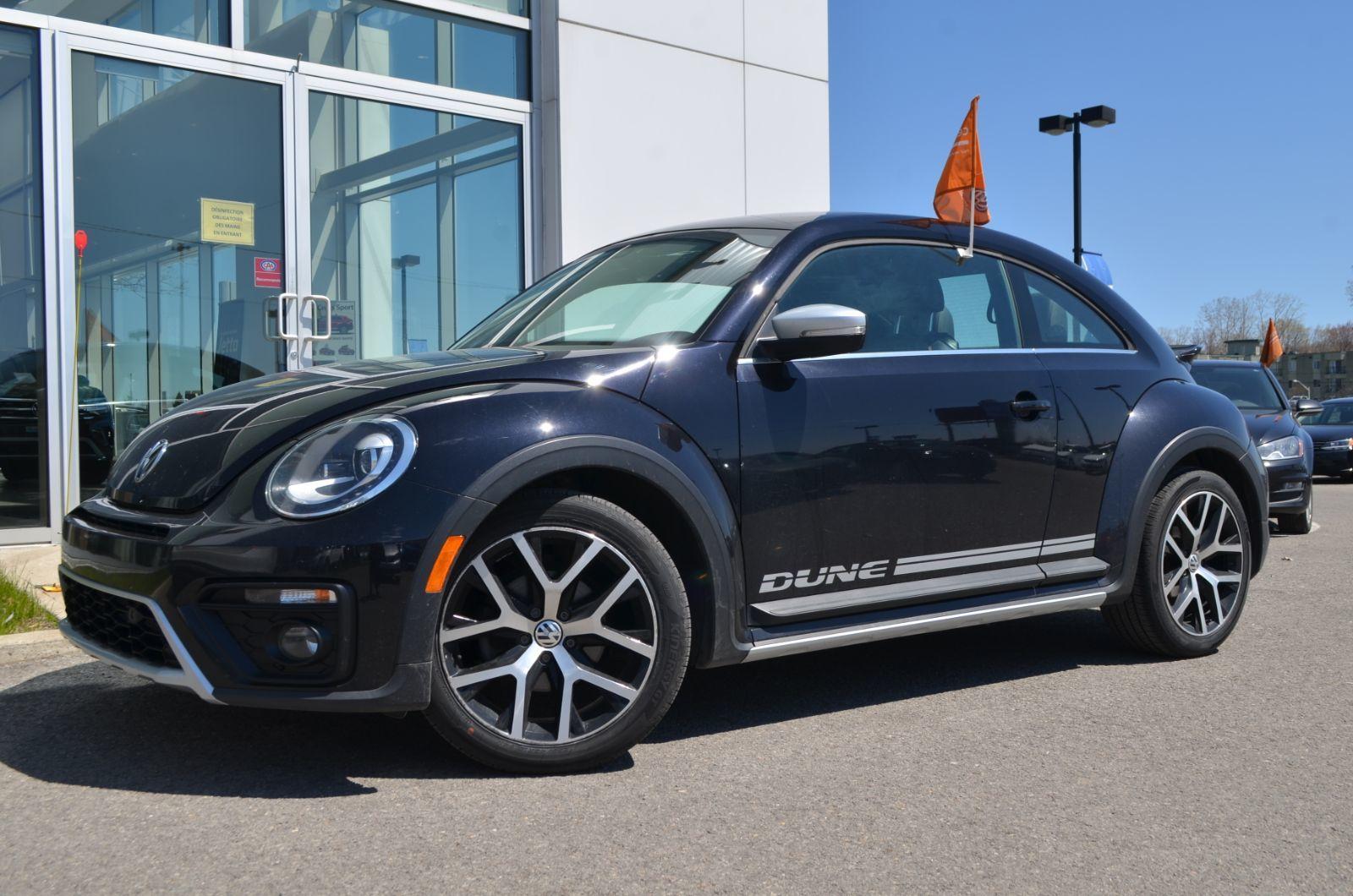 Used 2017 Volkswagen Beetle Dune Black 65 160 Km For Sale 17495 0 Volkswagen Laurentides V1158