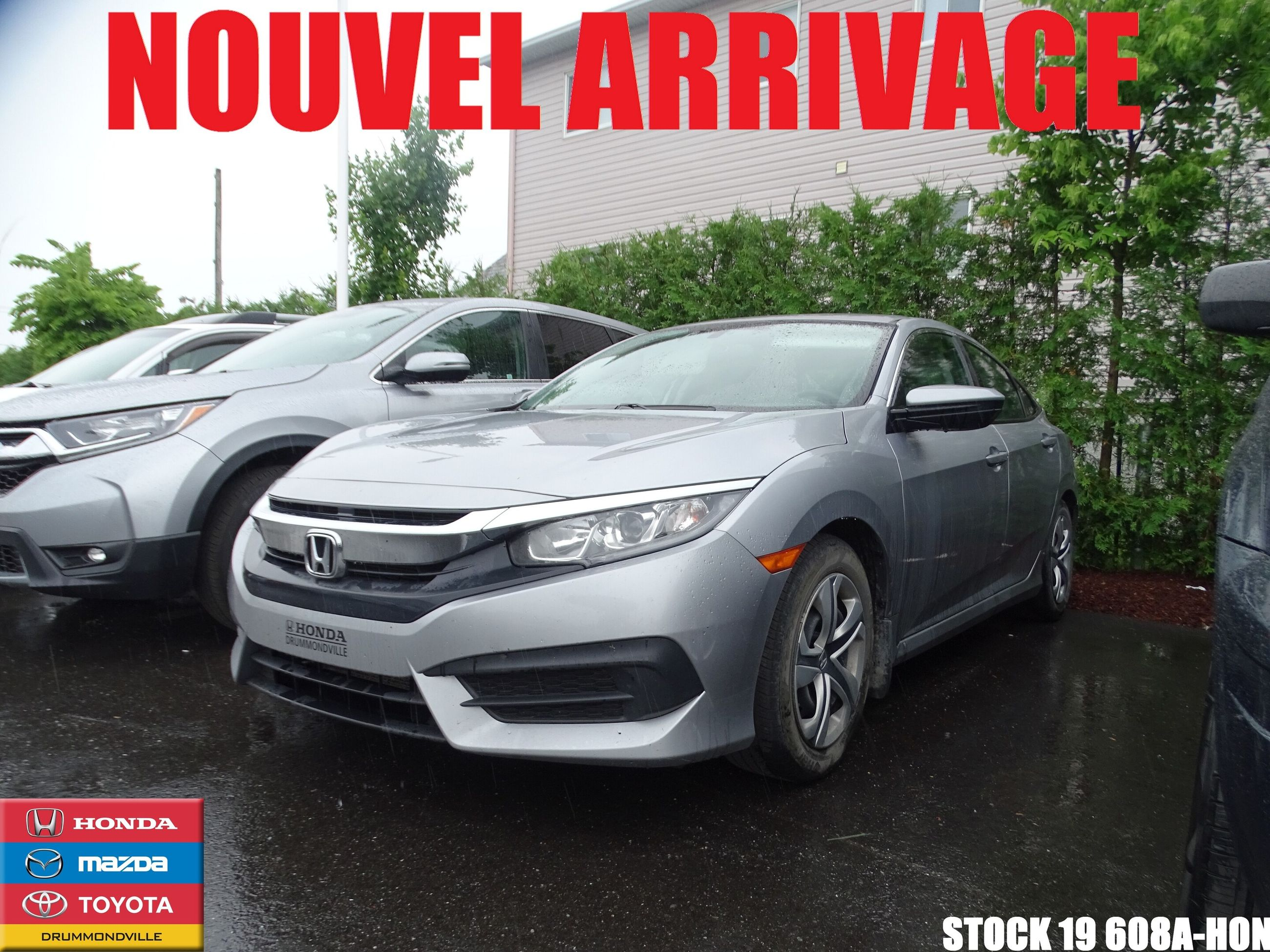 Mazda Drummondville | Pre-owned 2016 Honda Civic LX for Sale