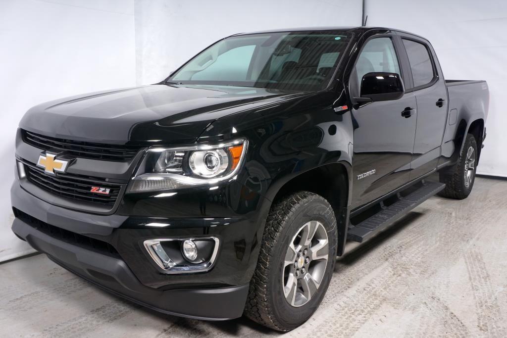 New Chevrolet Colorado Z71, Crew Cab, Diesel 2018 Noir ...