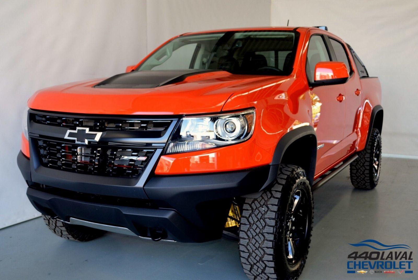 New 2019 Chevrolet Colorado ZR2, Crew Cab Crush - $53940.0 ...