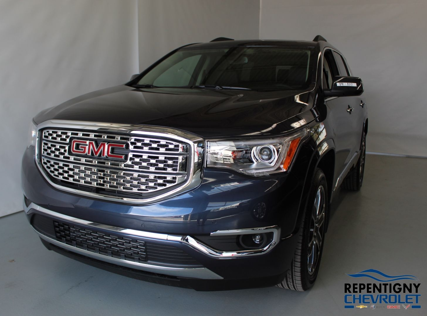 New 2019 GMC Acadia DENALI Blue Steel Metallic - $58295.0 ...