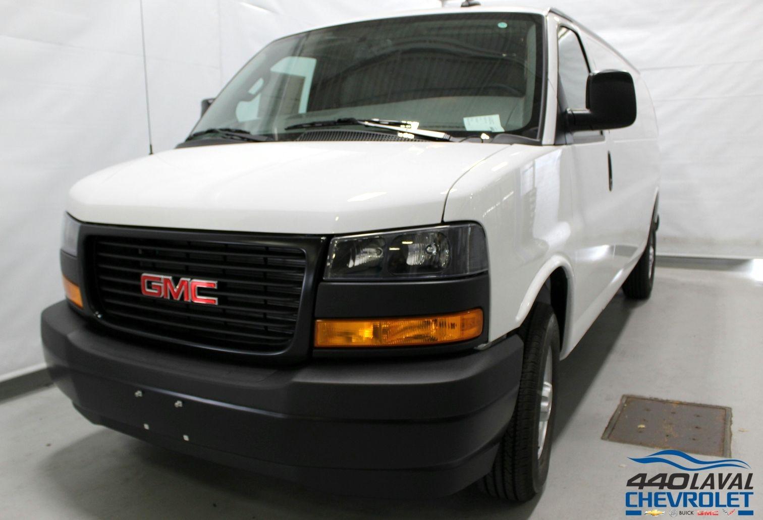 New 2018 Gmc Savana Cargo Van Work Summit White 427500 440 Chevrolet Laval 181818